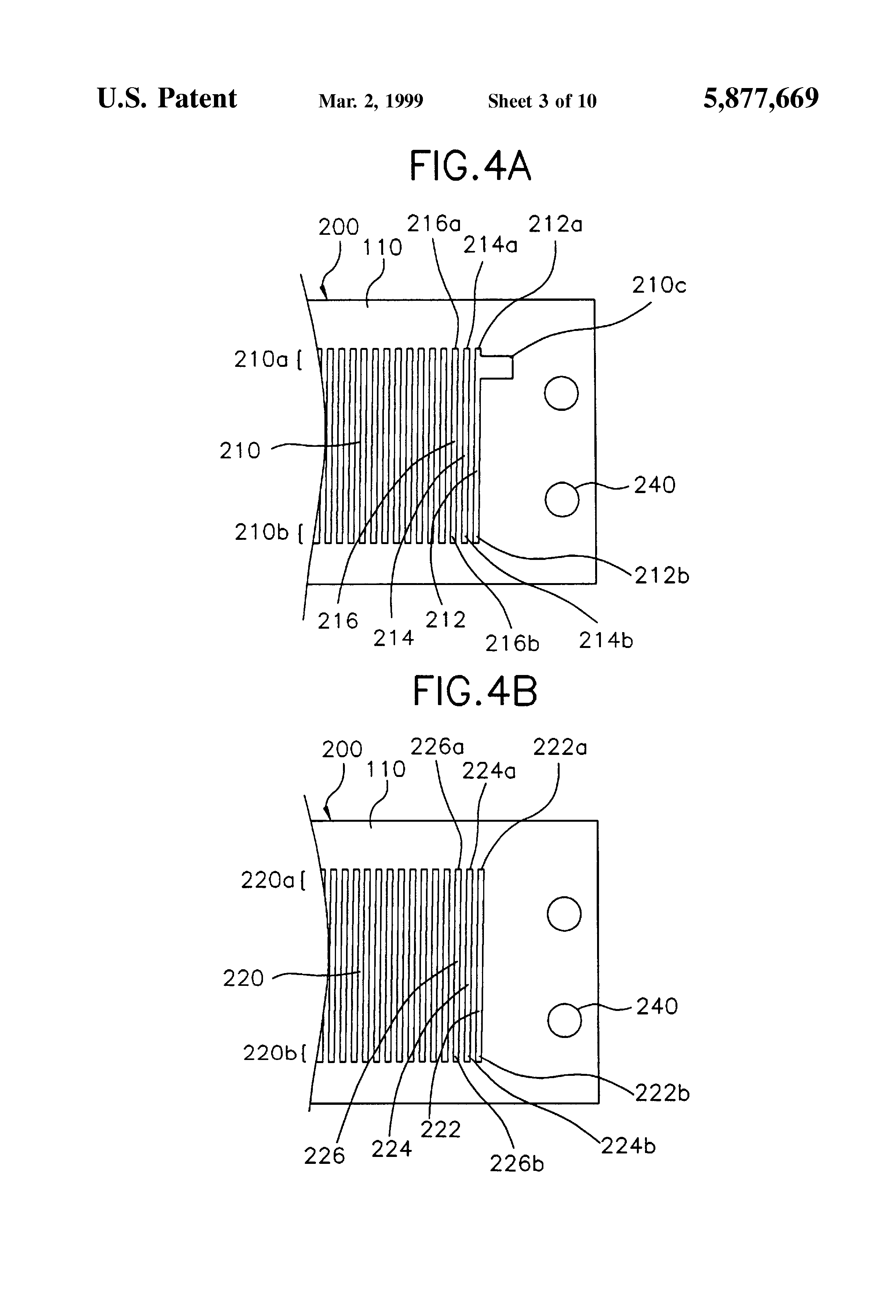 patent us5877669 - flyback transformer having a flexible coil winding structure and