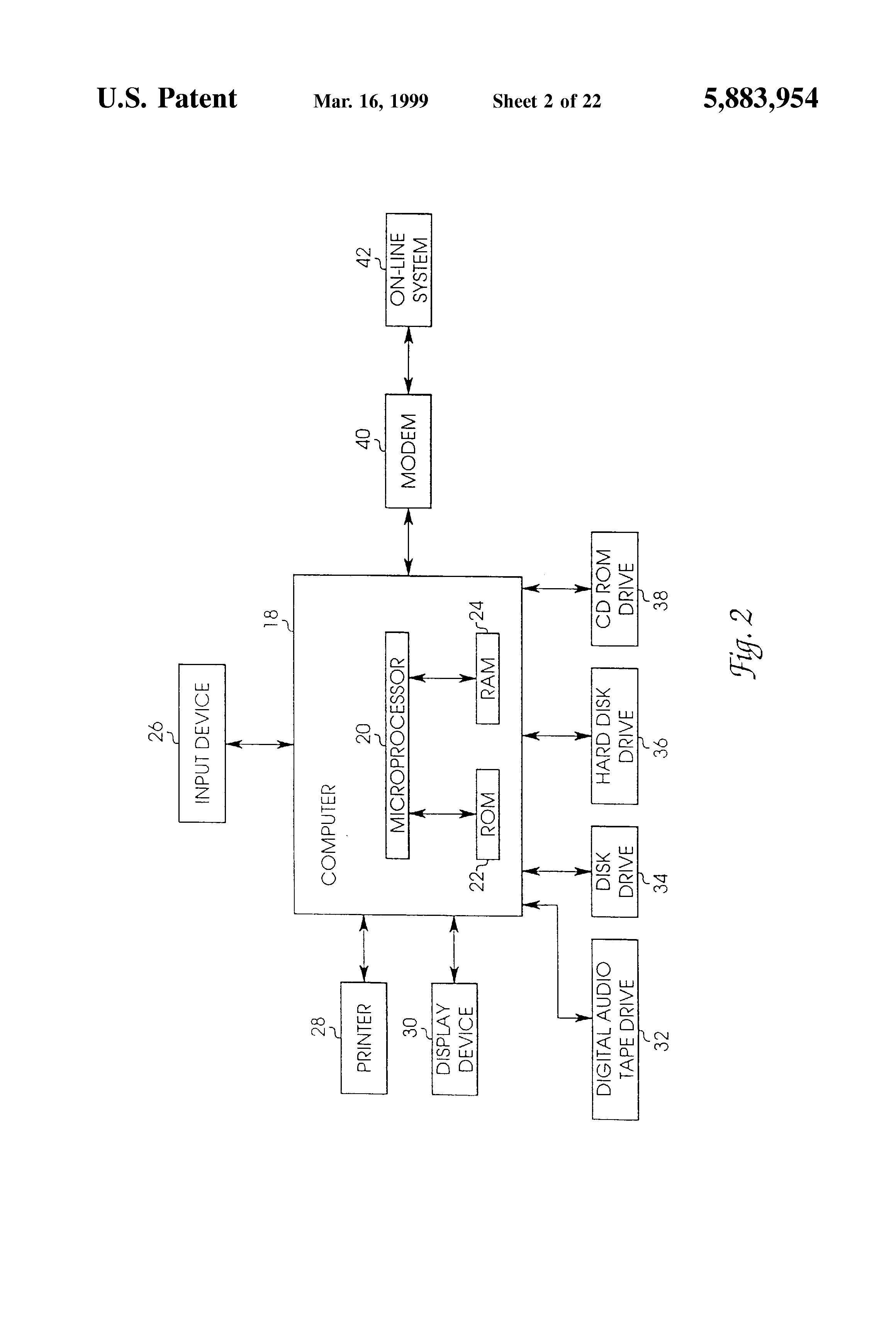 Patent Us5883954 Self Launching Encrypted Try Before You Buy Watchdog Circuit Diagram Electronic Diagrams Schematics Drawing