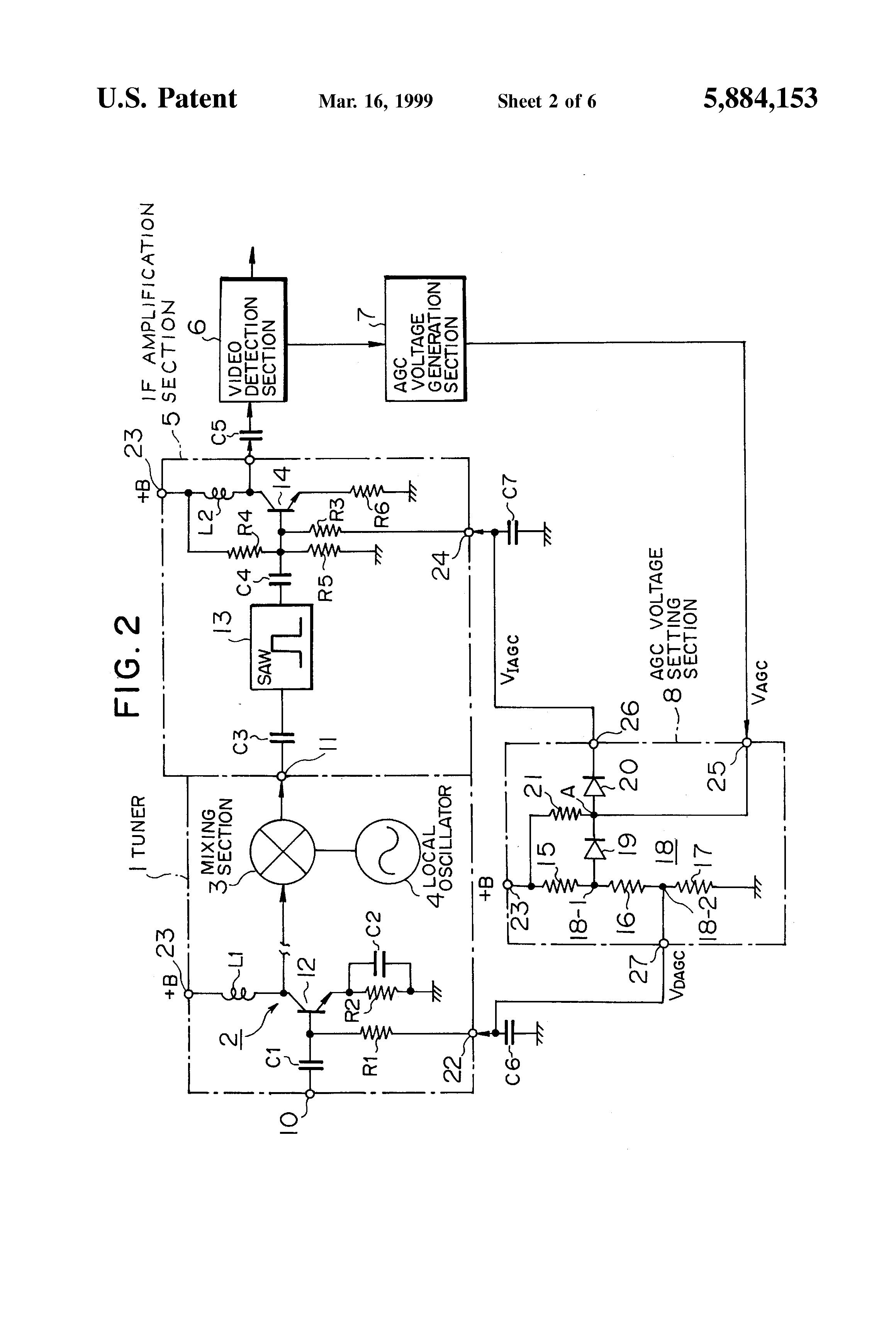 Brevet US5884153 - Delayed automatic gain control circuit - Google