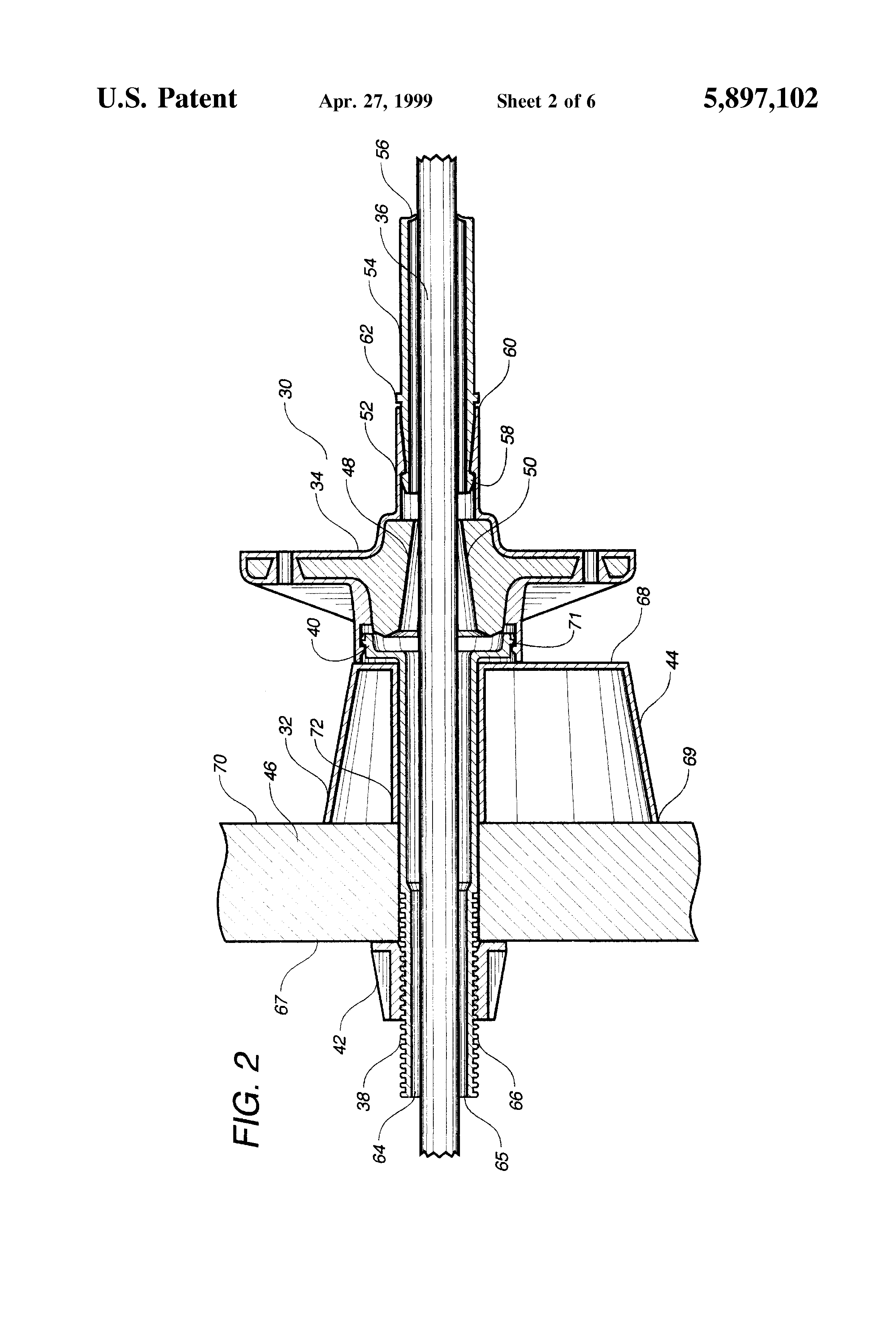 Patent us pocketformer apparatus for a post