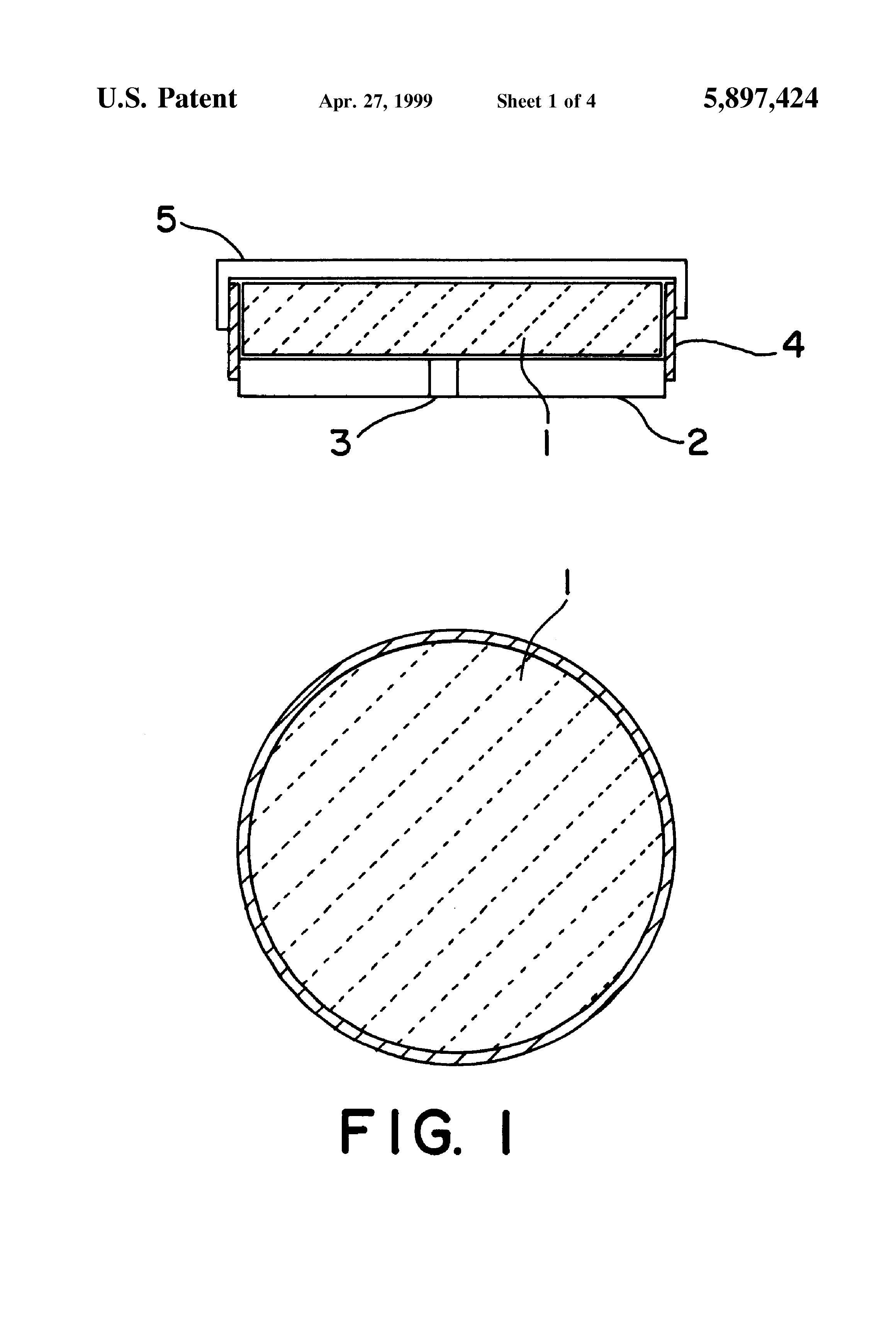 Patent US5897424 - Renewable polishing lap - Google Patents