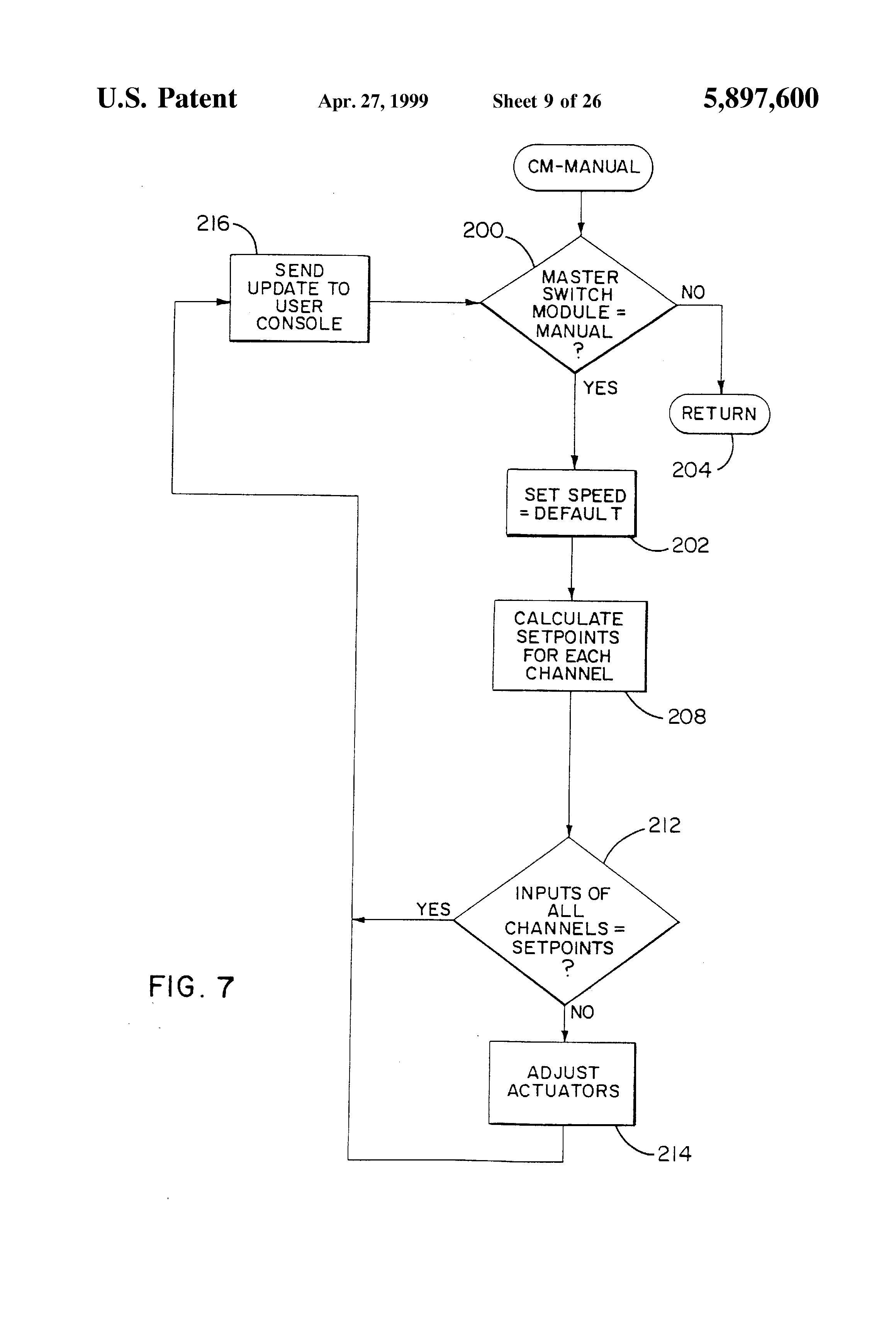 Patent Us5897600 Universal Modular Control System For Mobile An On 424 International Tractor Hydraulics Diagram Drawing