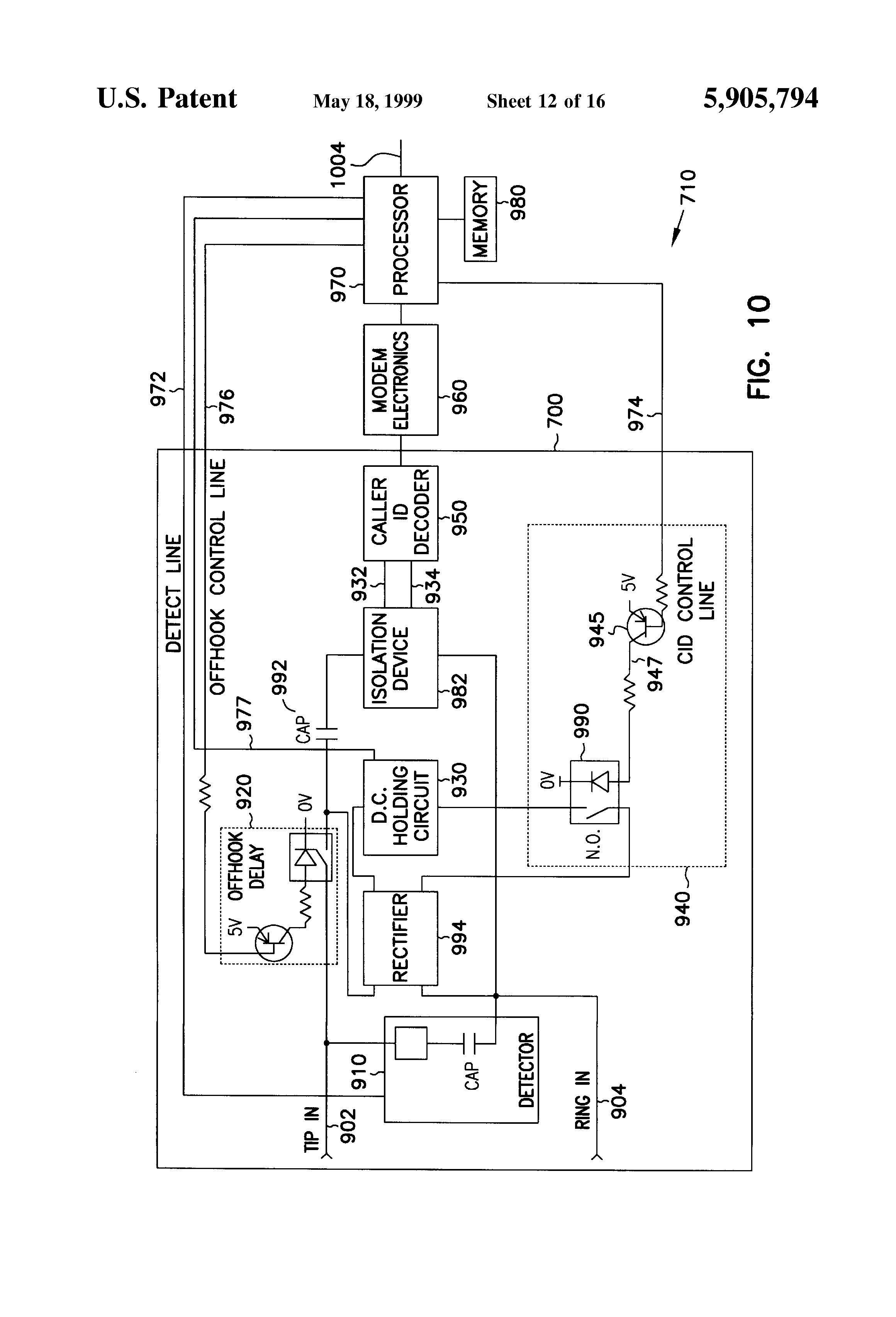 patent us5905794