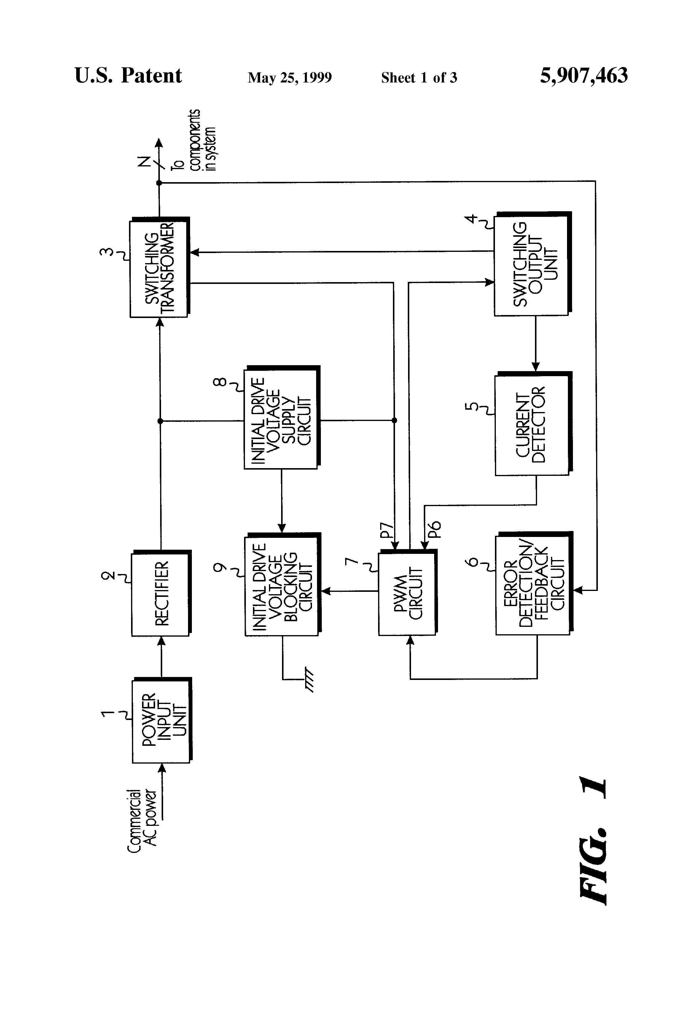 Patent US5907463 - Overcurrent protection circuit - Google Patents