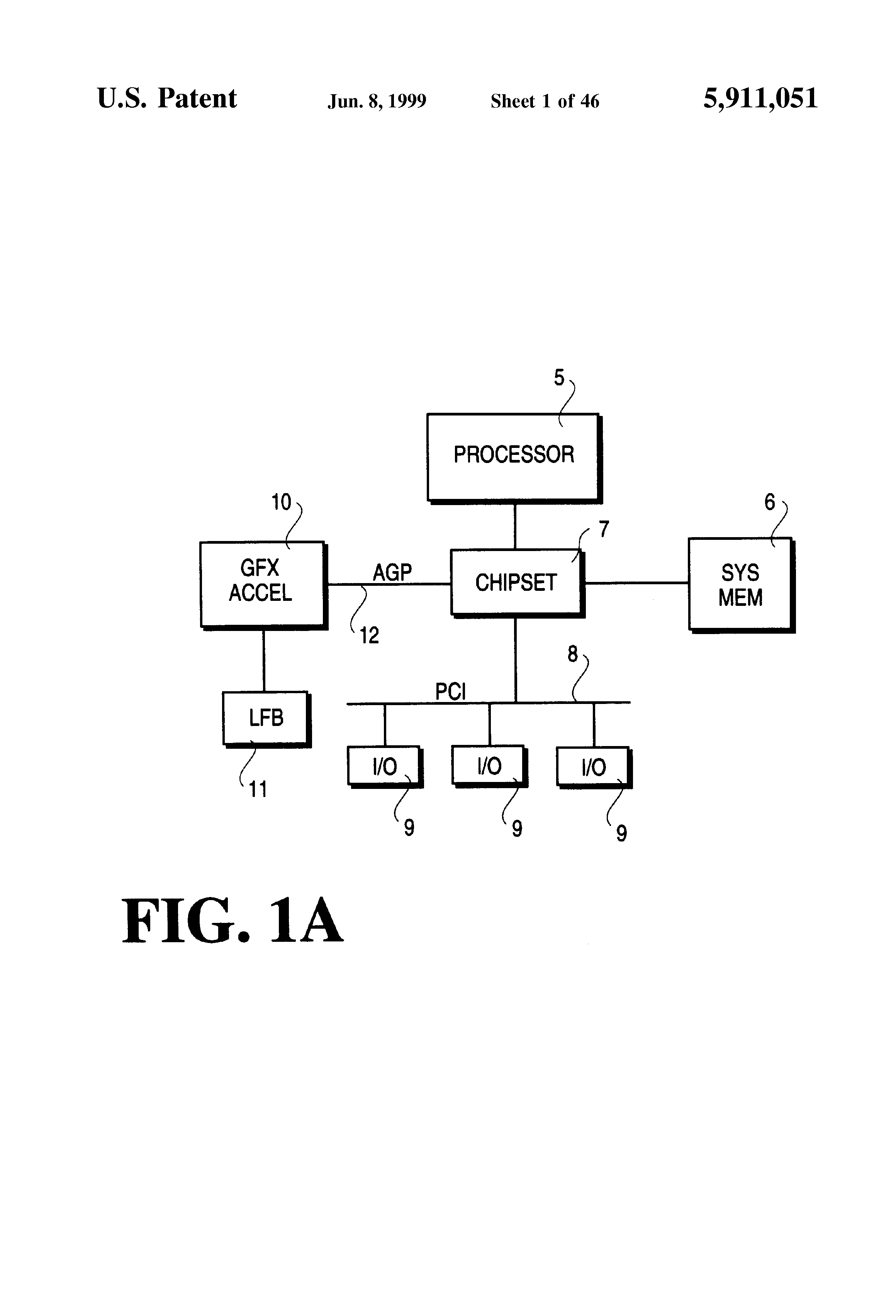 Patent US5911051 - High-throughput interconnect allowing bus