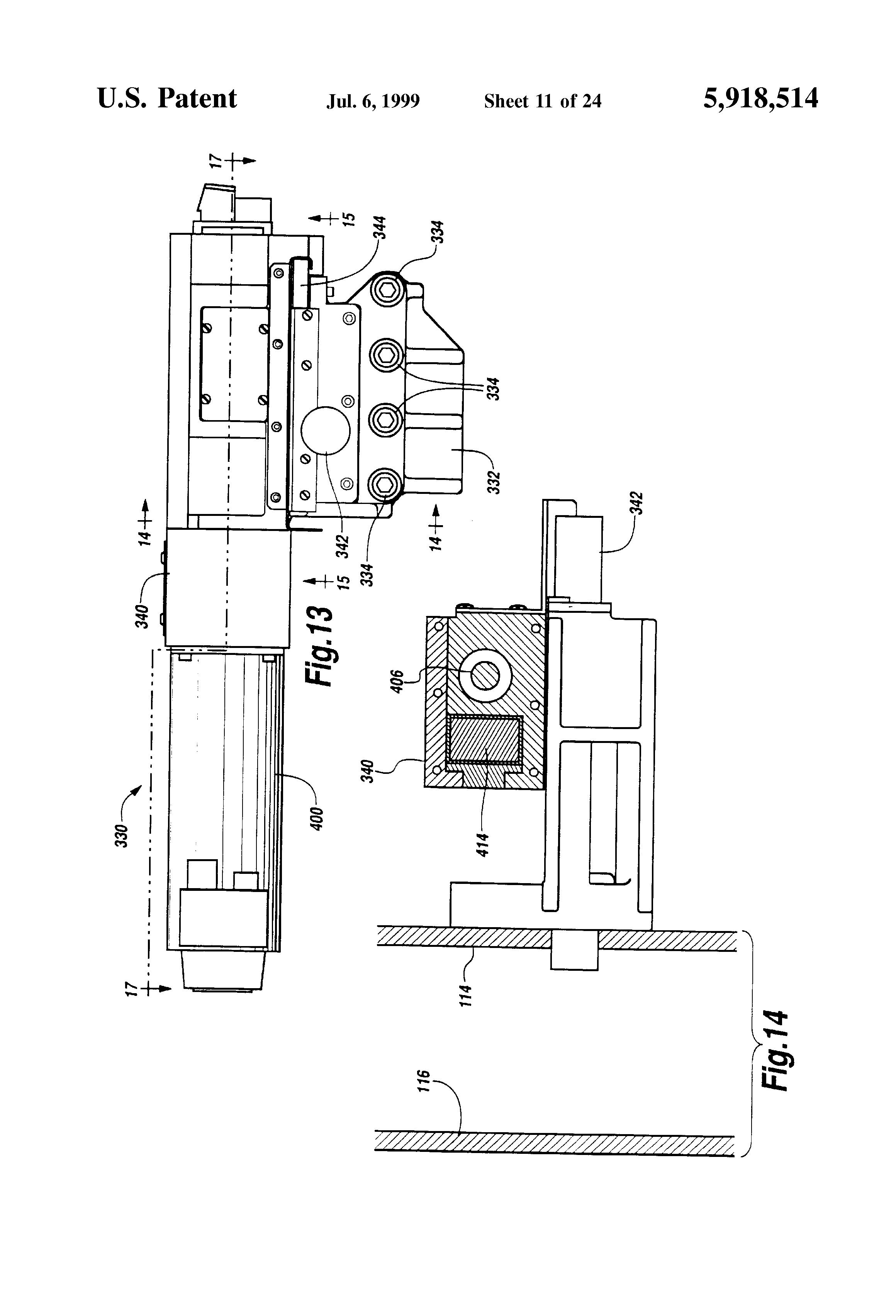 Patent Us5918514 Multi Spindle Cnc Lathe Google Patents