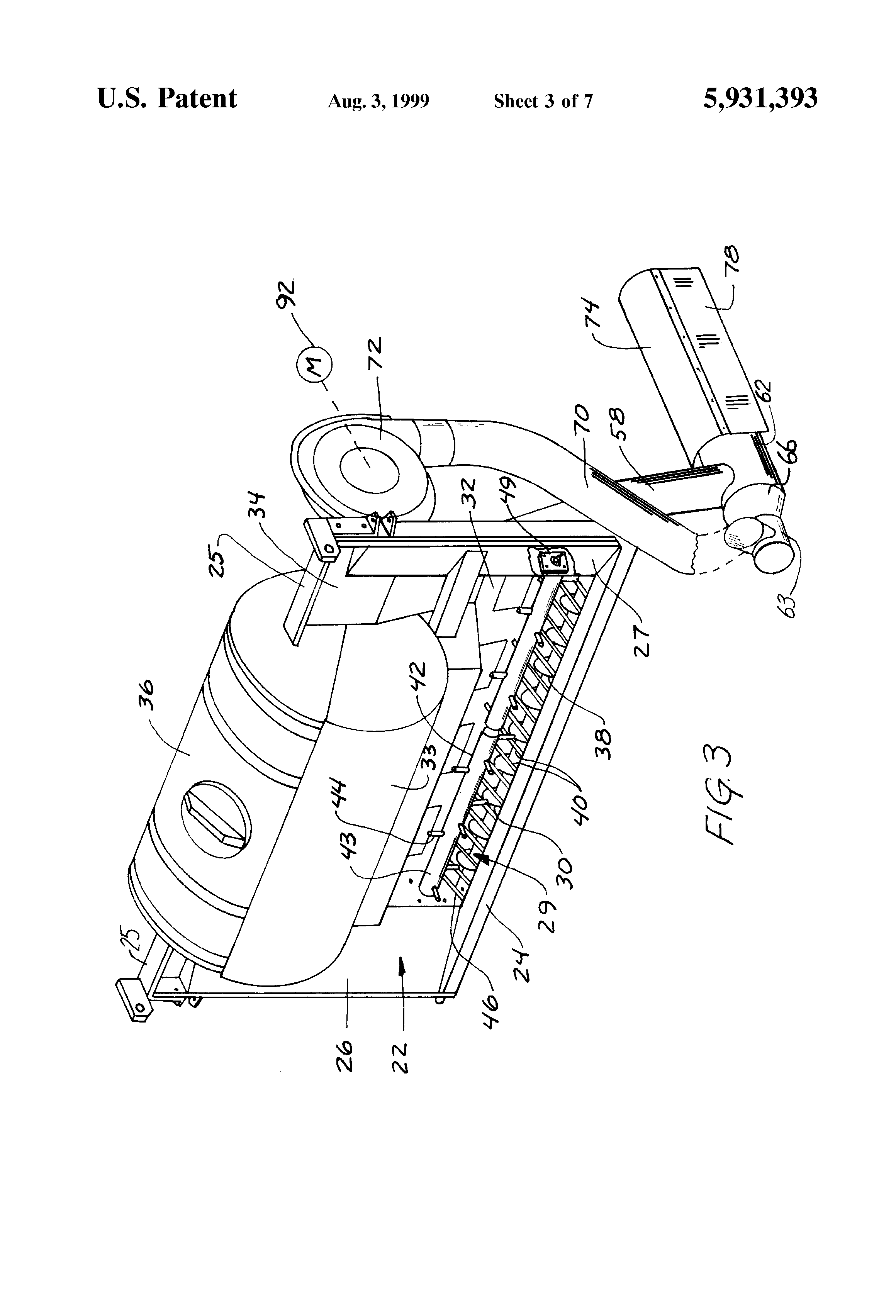 ... US5931393 3 patent us5931393 salt sand spreader with liquid injector  air flow salt spreader wiring diagram