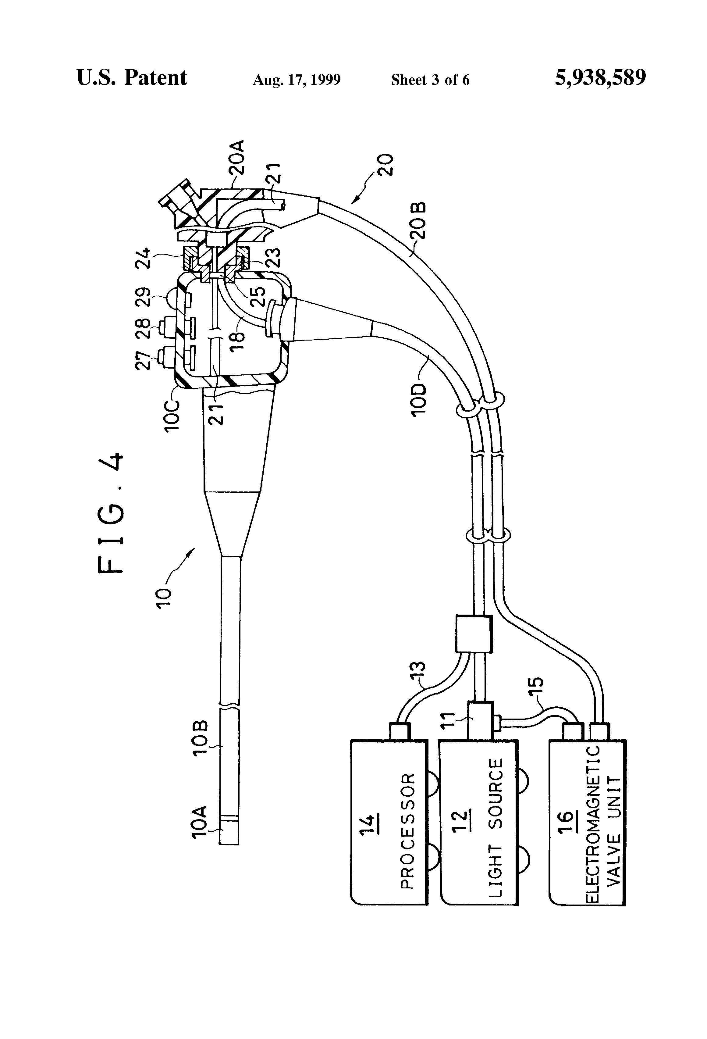 Duct Control Lever : Patent us control switch device for an endoscope
