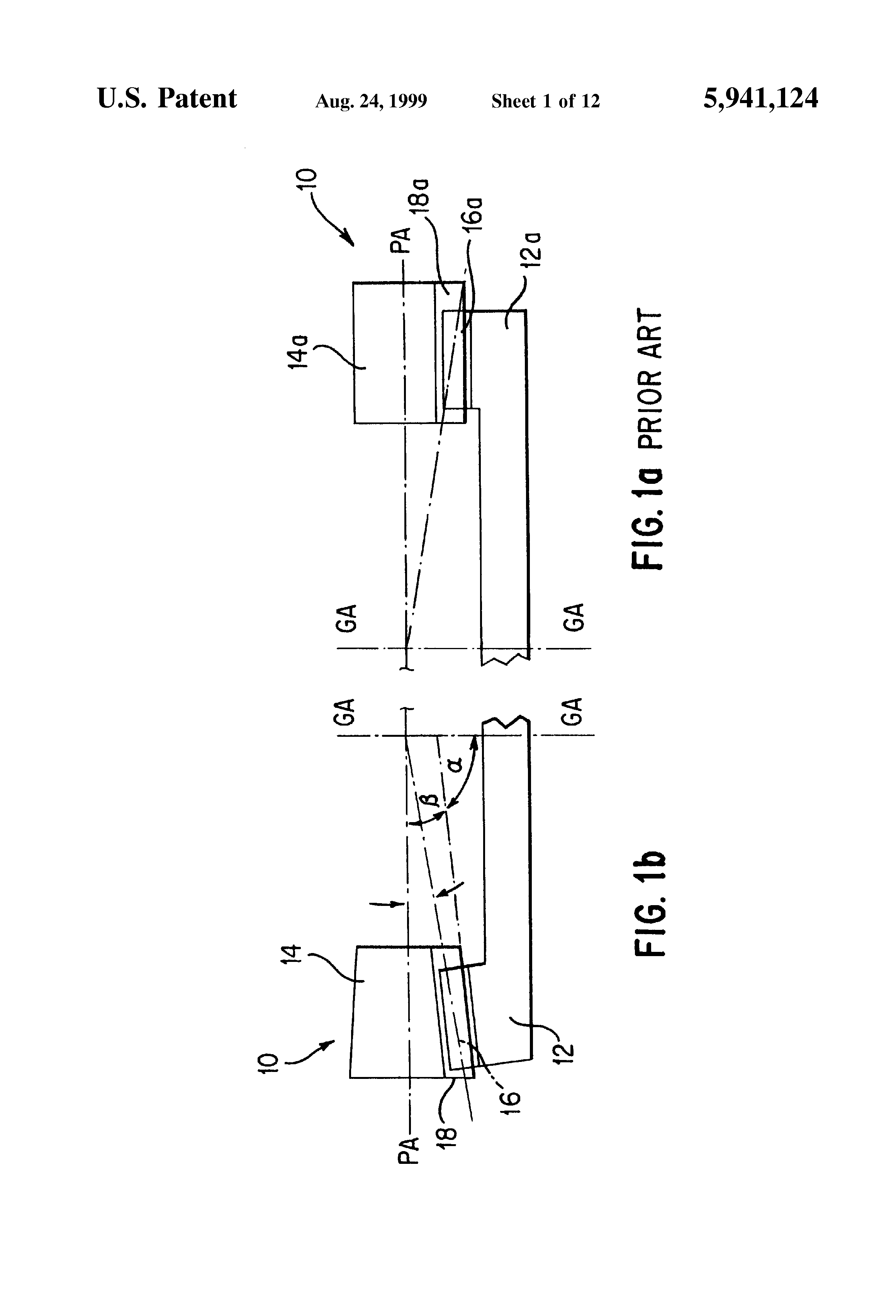 Patent US5941124 - Face gearing with conical involute pinion