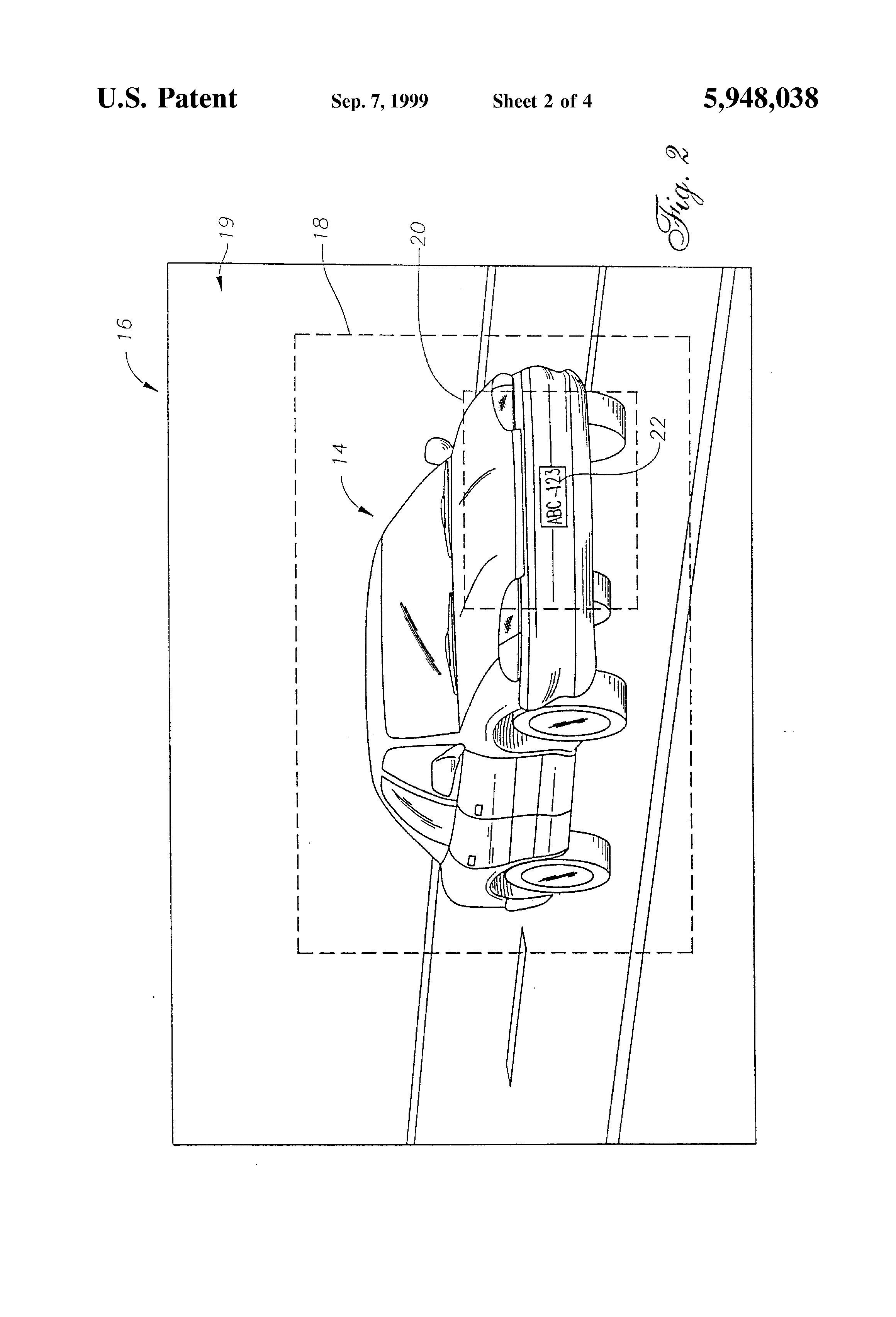 Patent Us5948038 Traffic Violation Processing System Google Patents Dutycycle Modulator Circuit Diagram Tradeoficcom Drawing