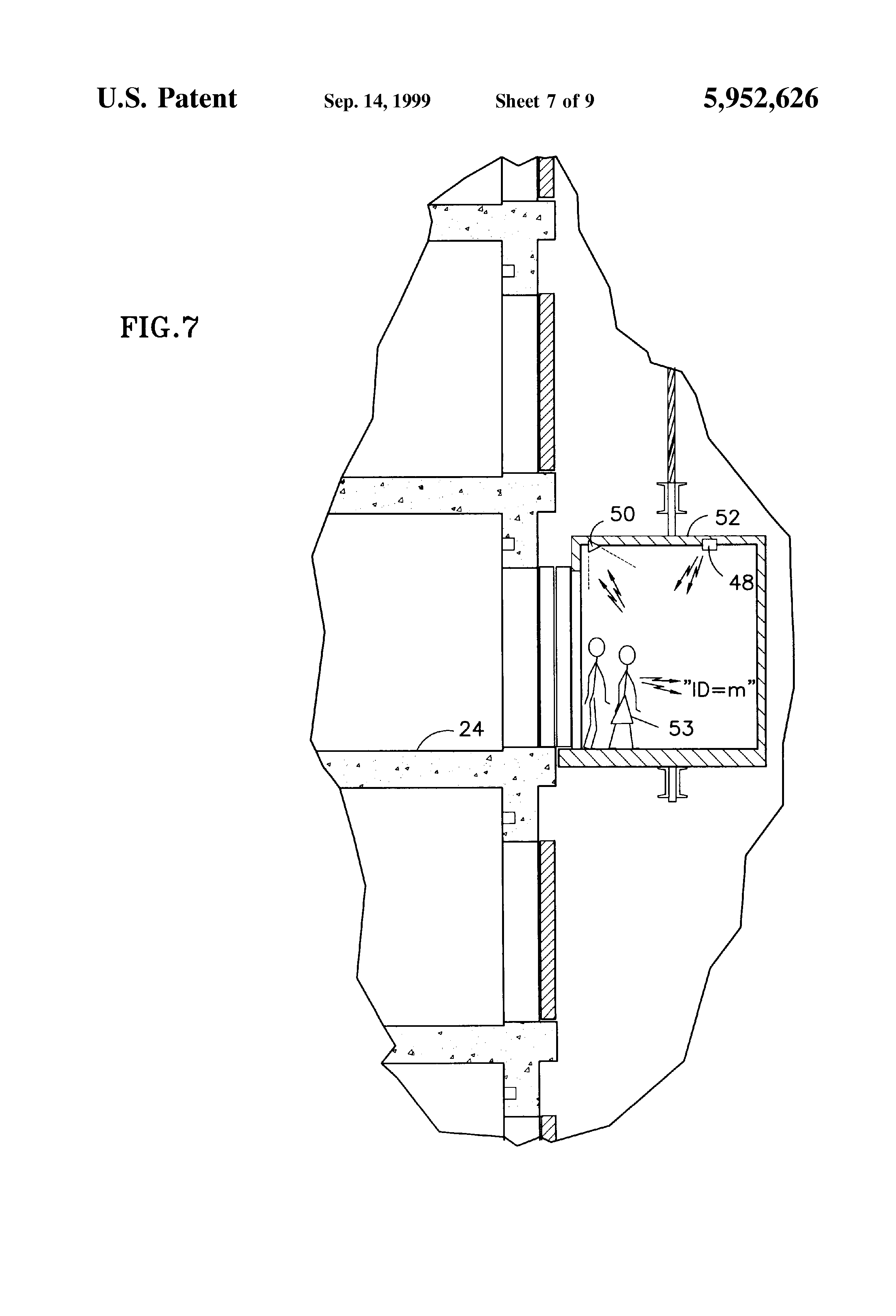 patent us5952626 - individual elevator call changing