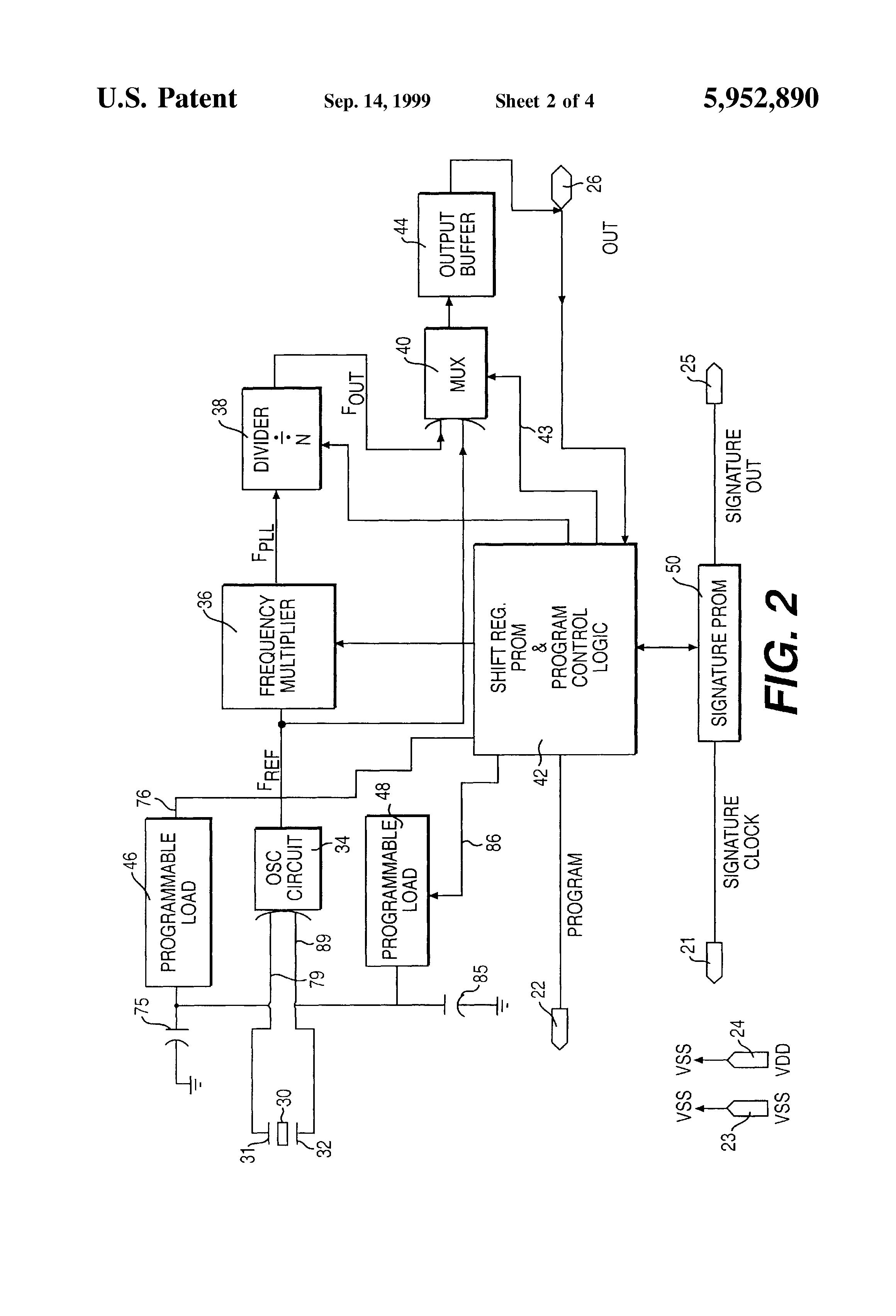 patent us5952890