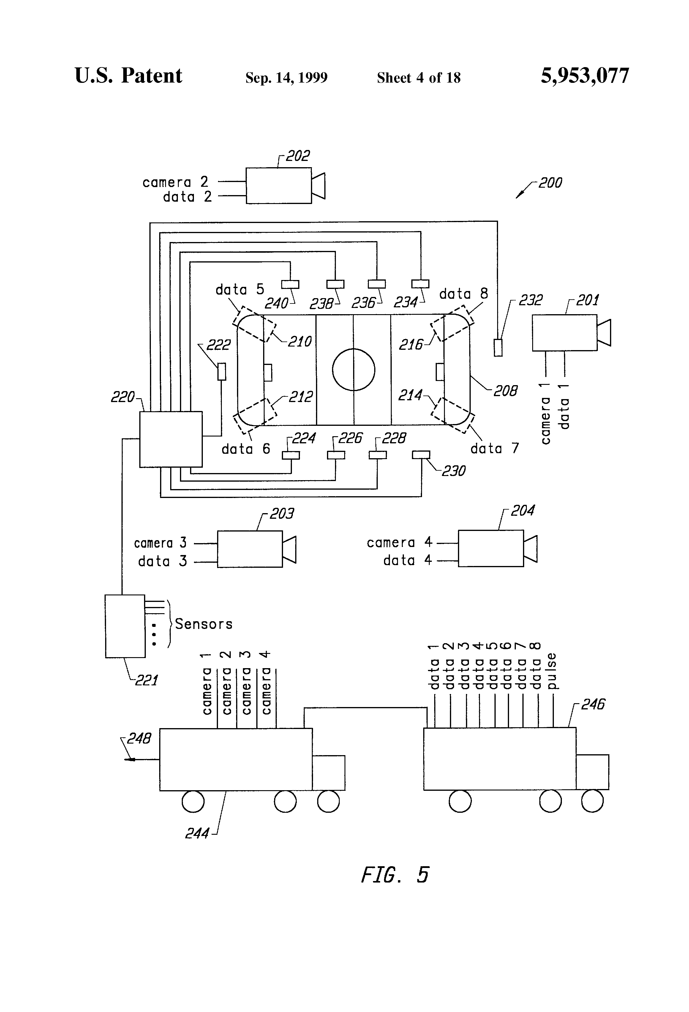 Patent Us5953077 System For Displaying An Object That Is Not Clark 530 Wiring Diagram Drawing