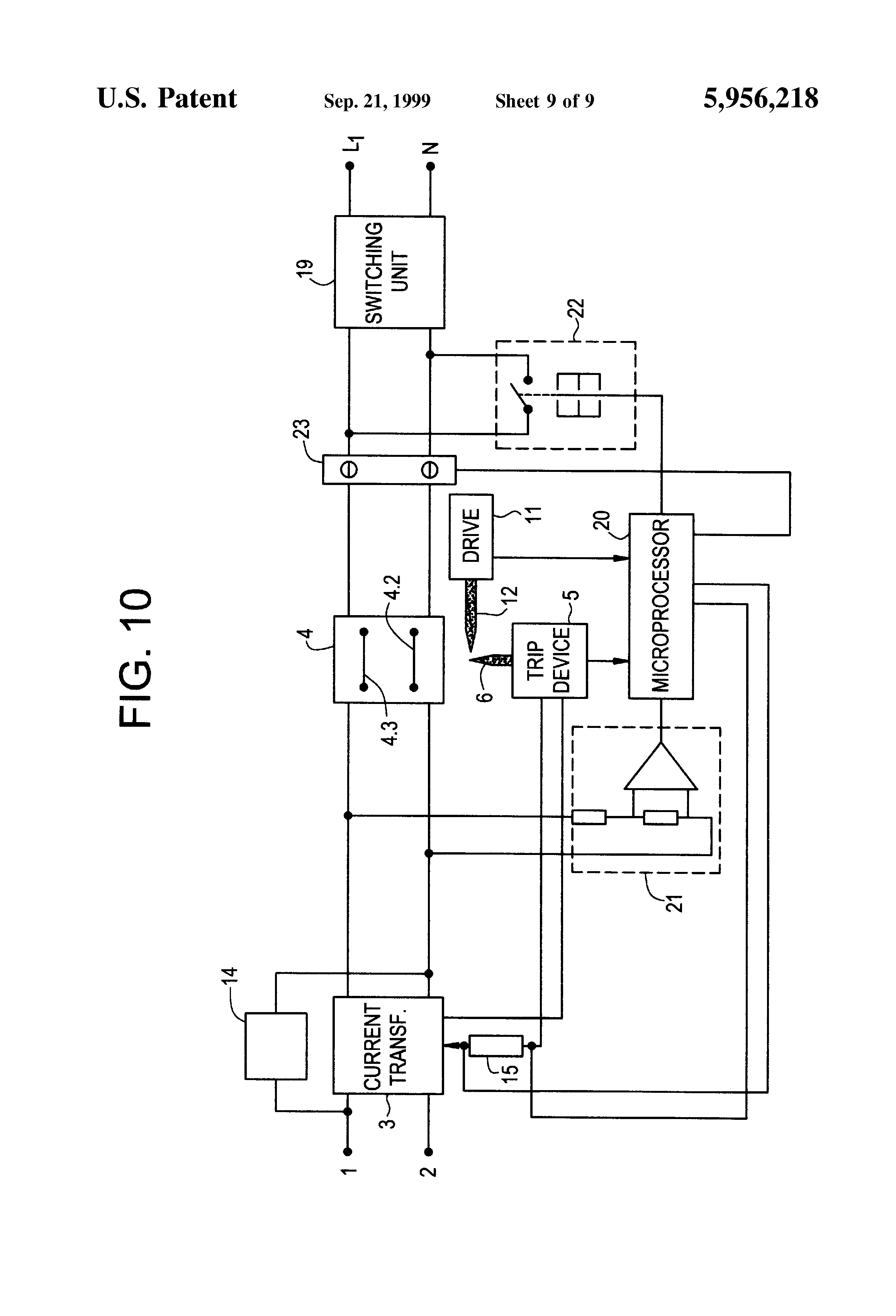 patent us5956218