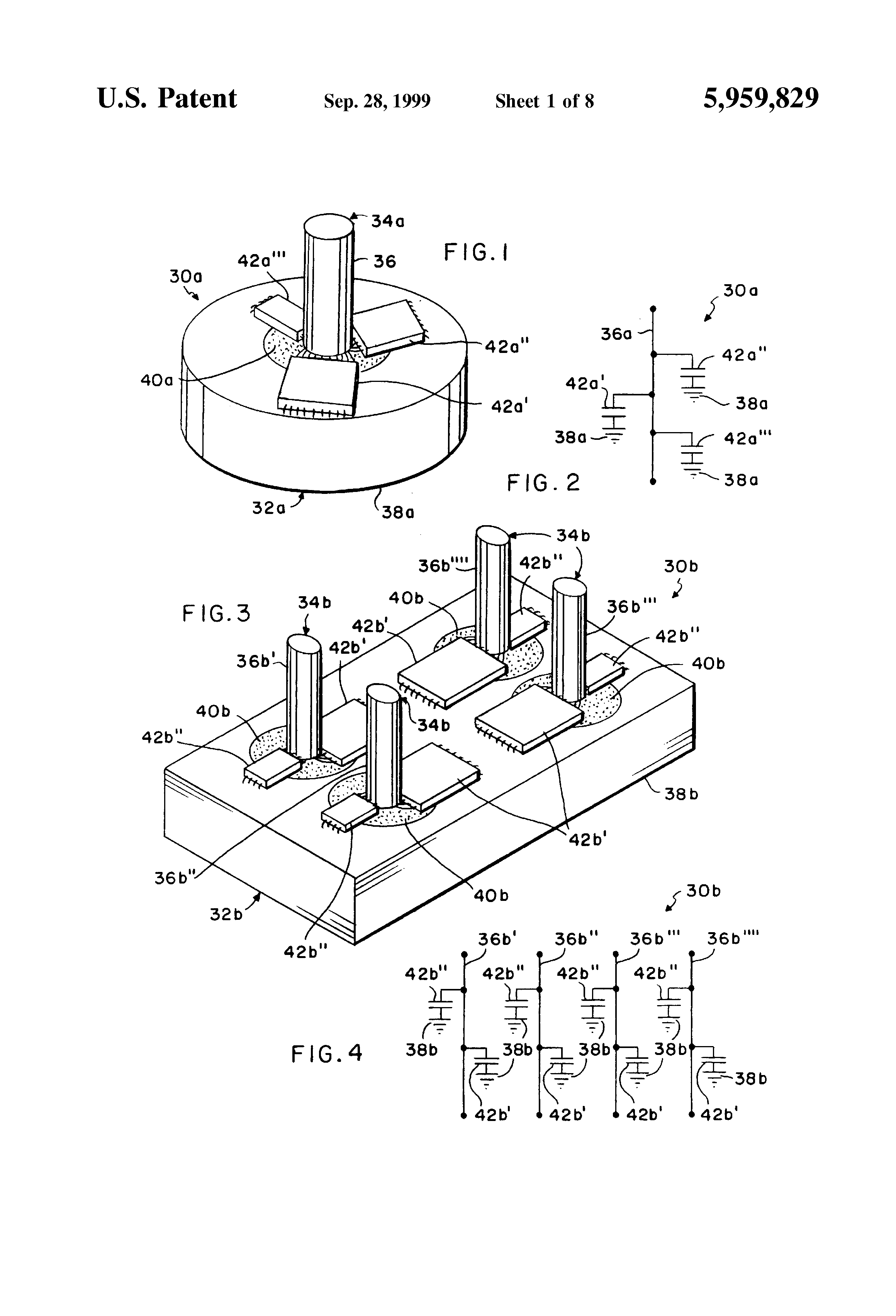 brevet us5959829 - chip capacitor electromagnetic interference filter