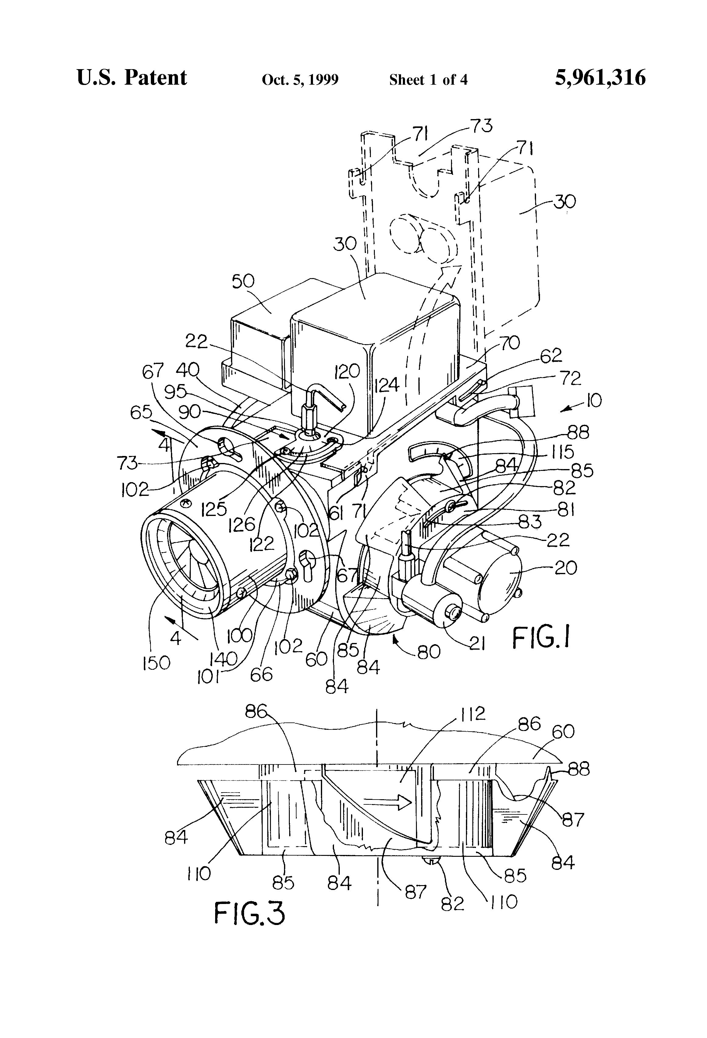 Patent US5961316 - Oil burner - Google Patenten