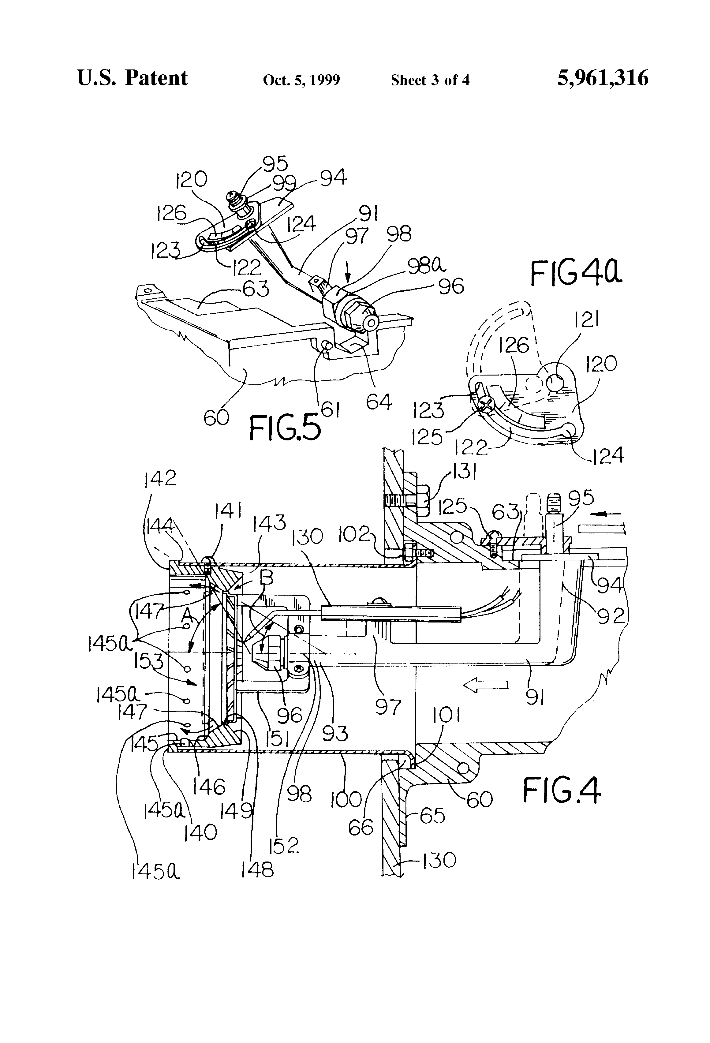 patent us5961316 - oil burner