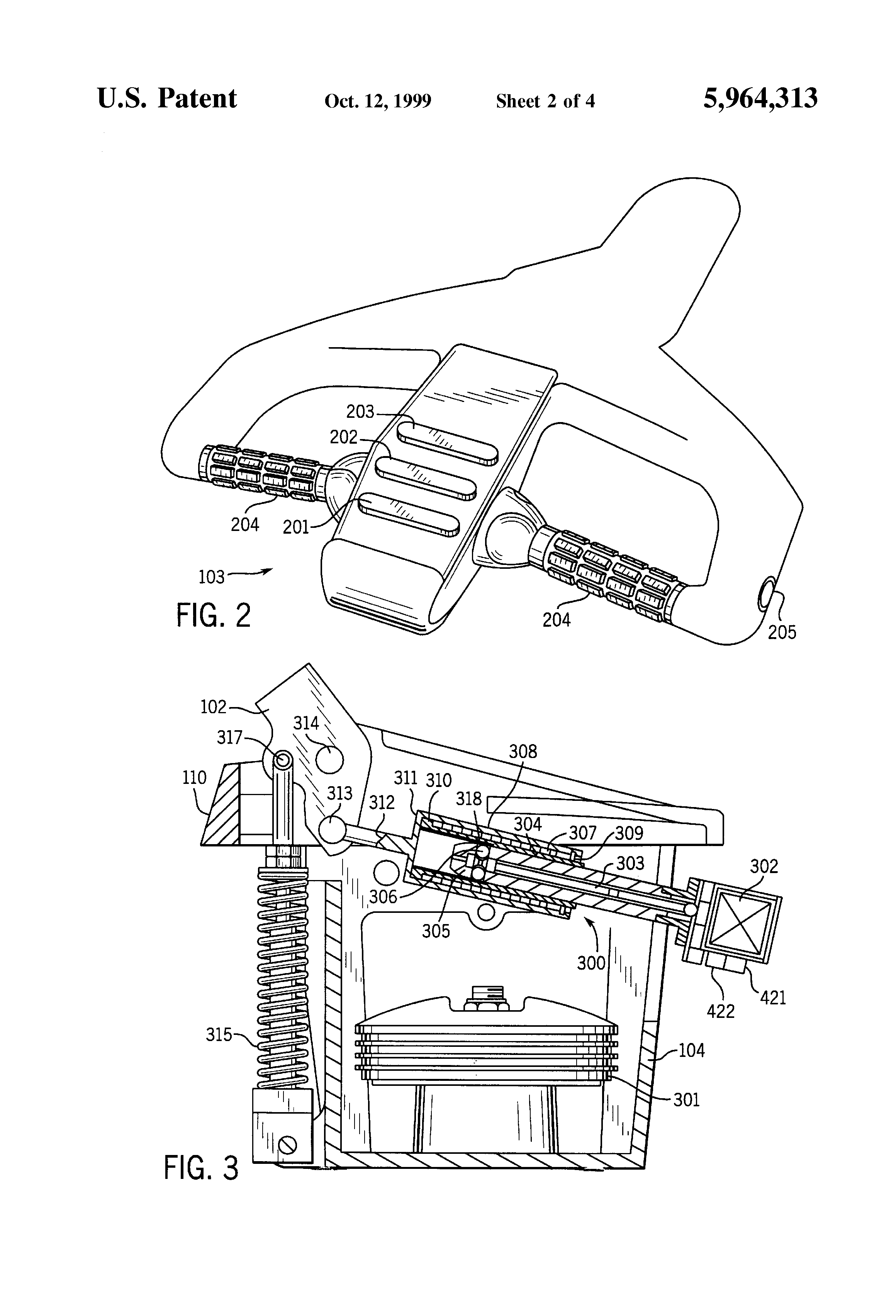 patent us5964313 - motion control system for materials handling vehicle