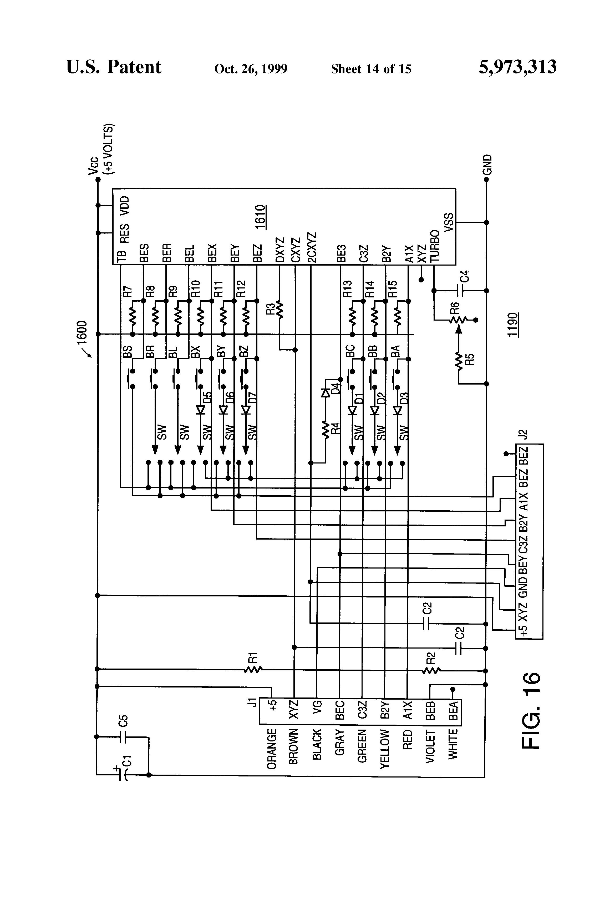 patent us5973313