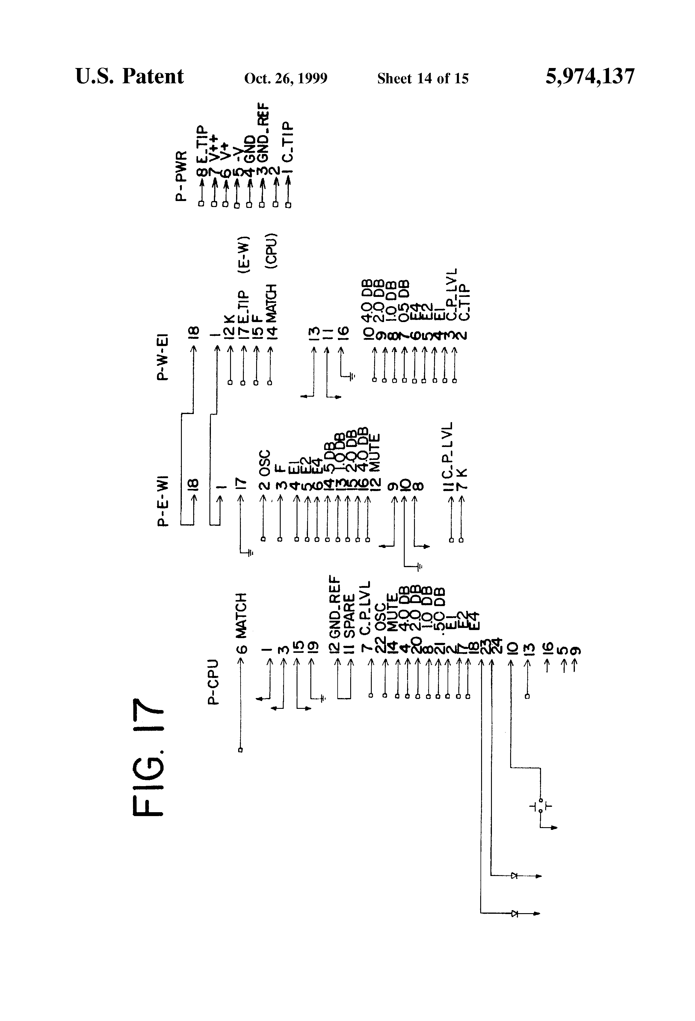 Patent Us5974137 Agc Amplifier For Two Wire Line Conditioner Multitone Generator Door Bell Circuit Drawing