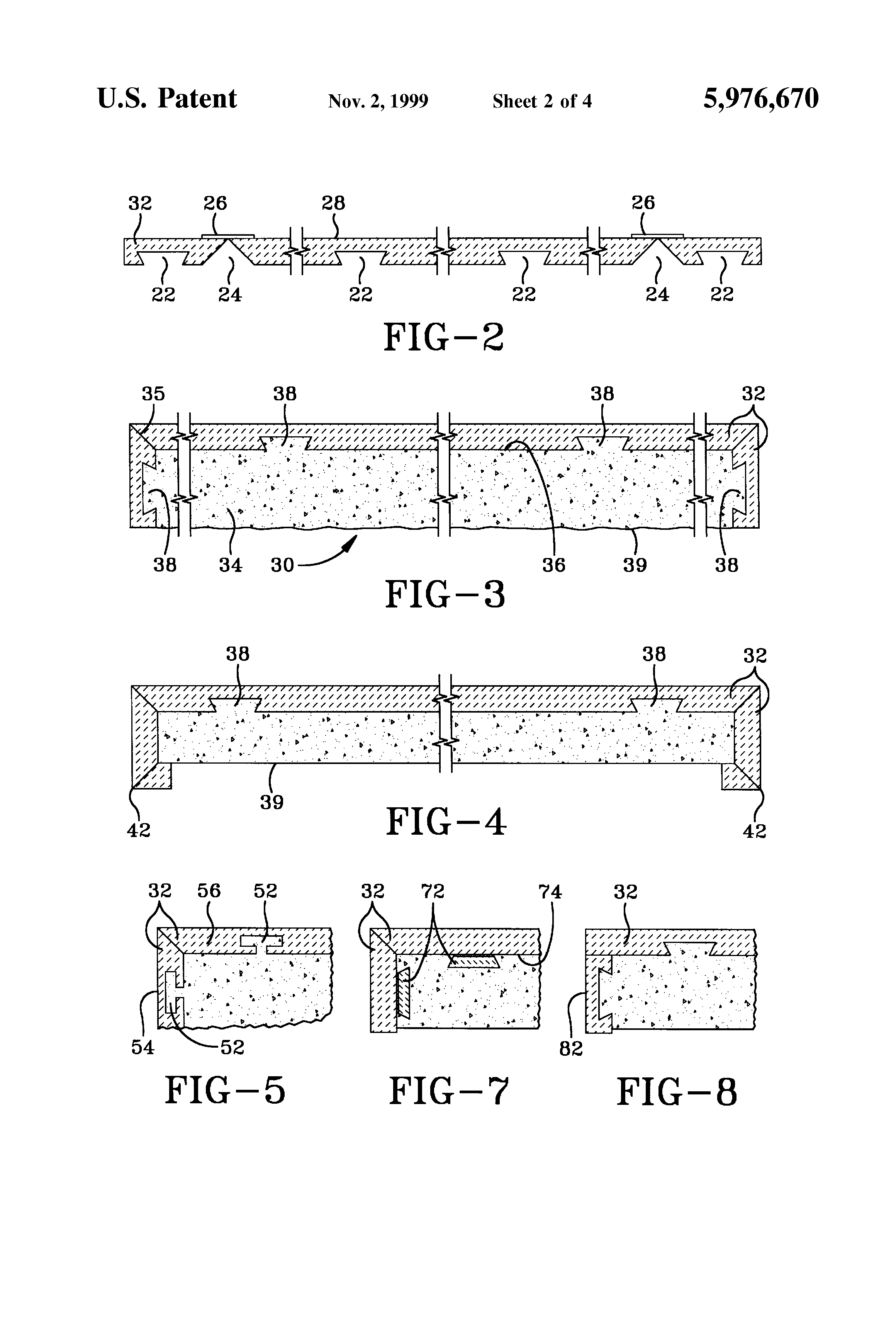 Patent Us5976670 Solid Surface Composite And Method Of