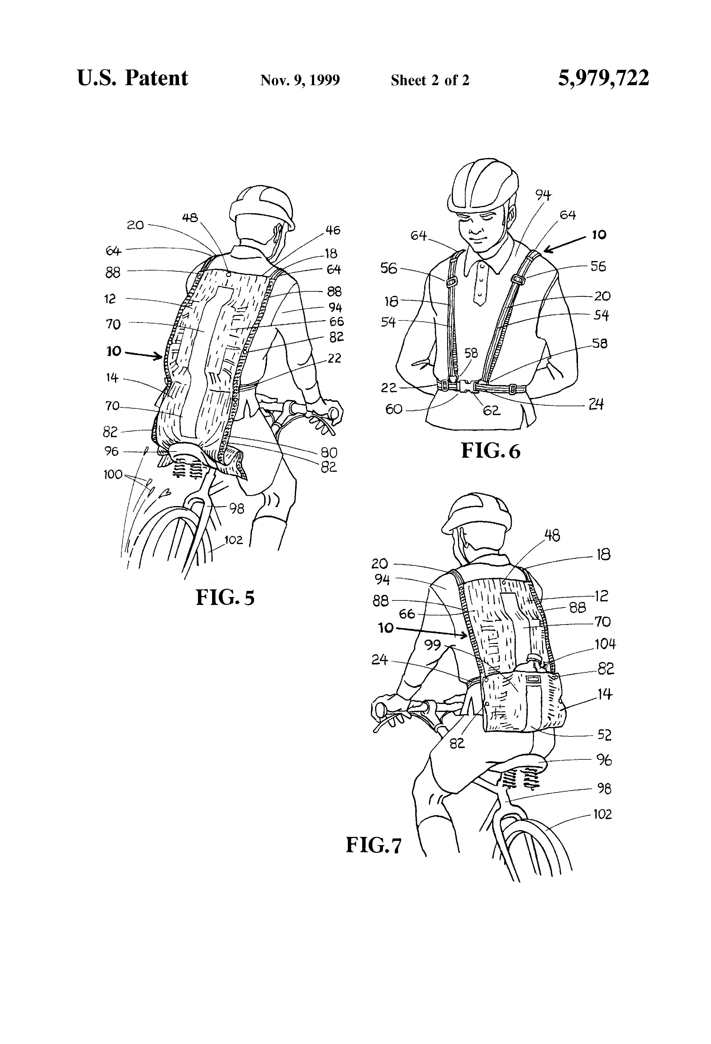 patent us5979722