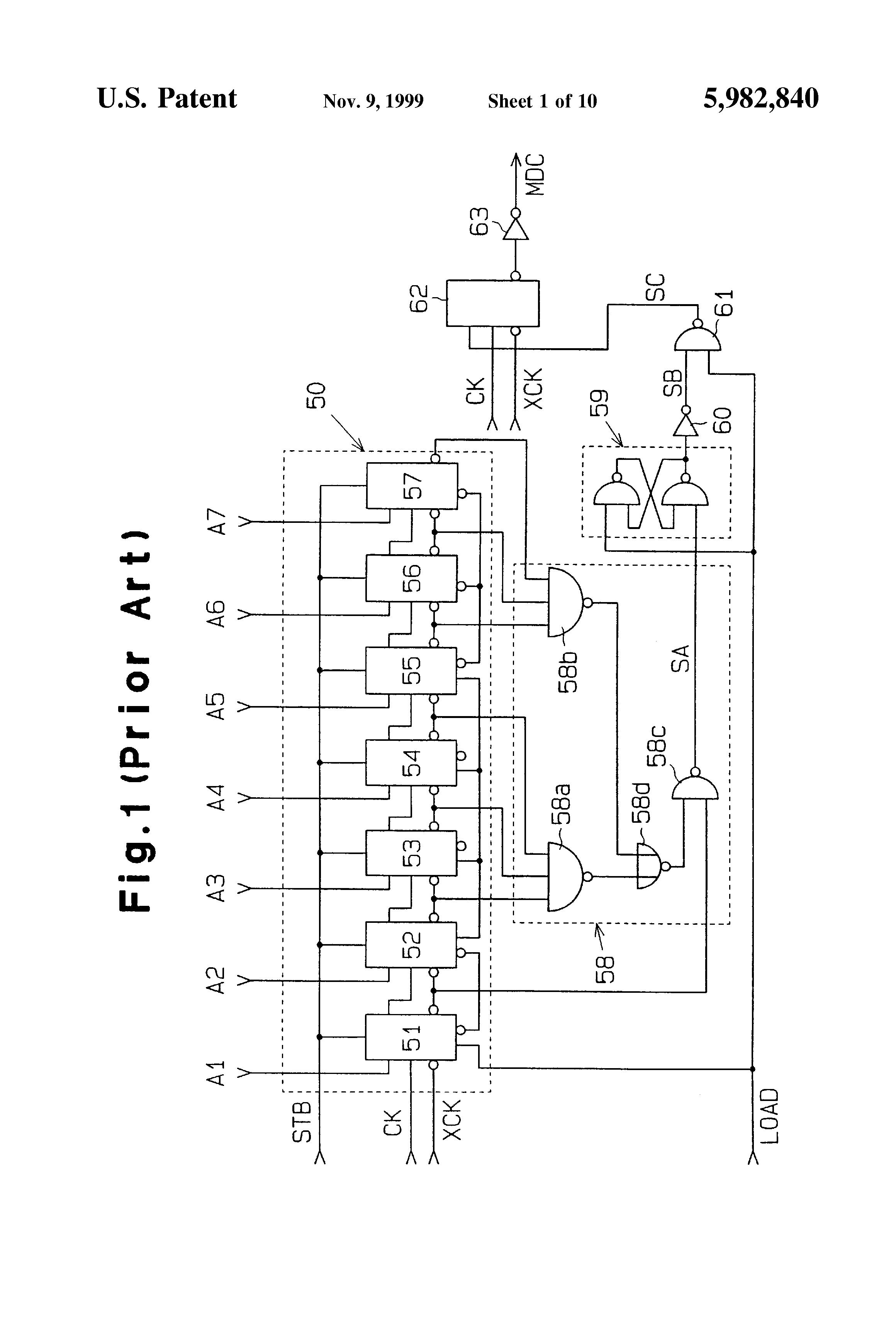 patent us5982840