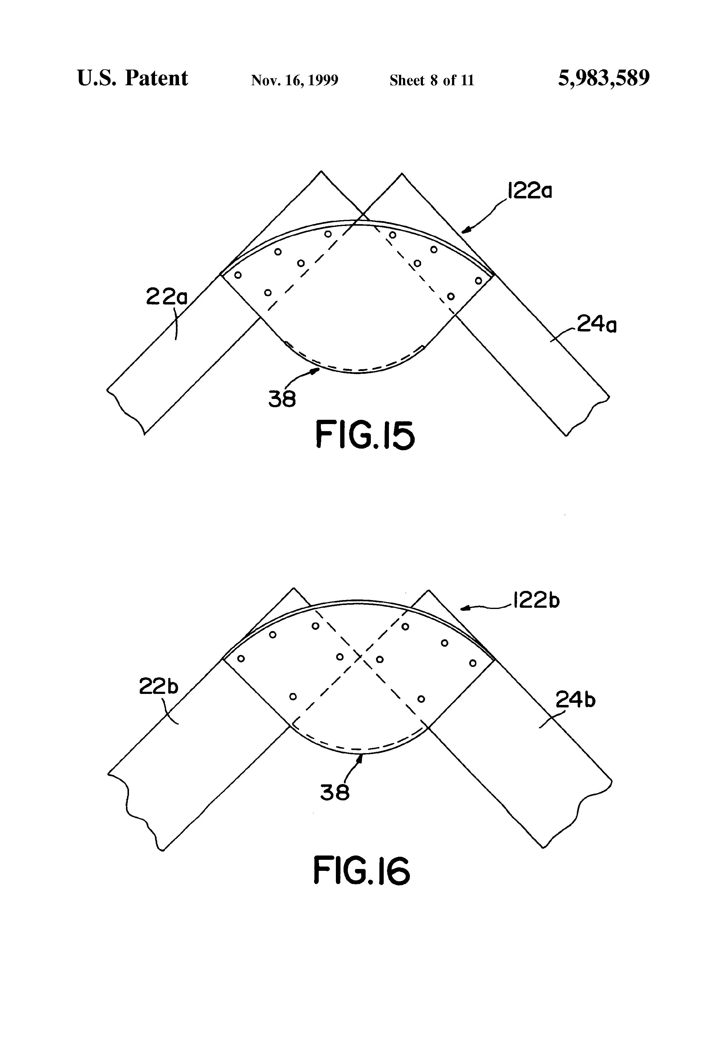 Patent Us5983589 Truss Pitch Break Connector Plate