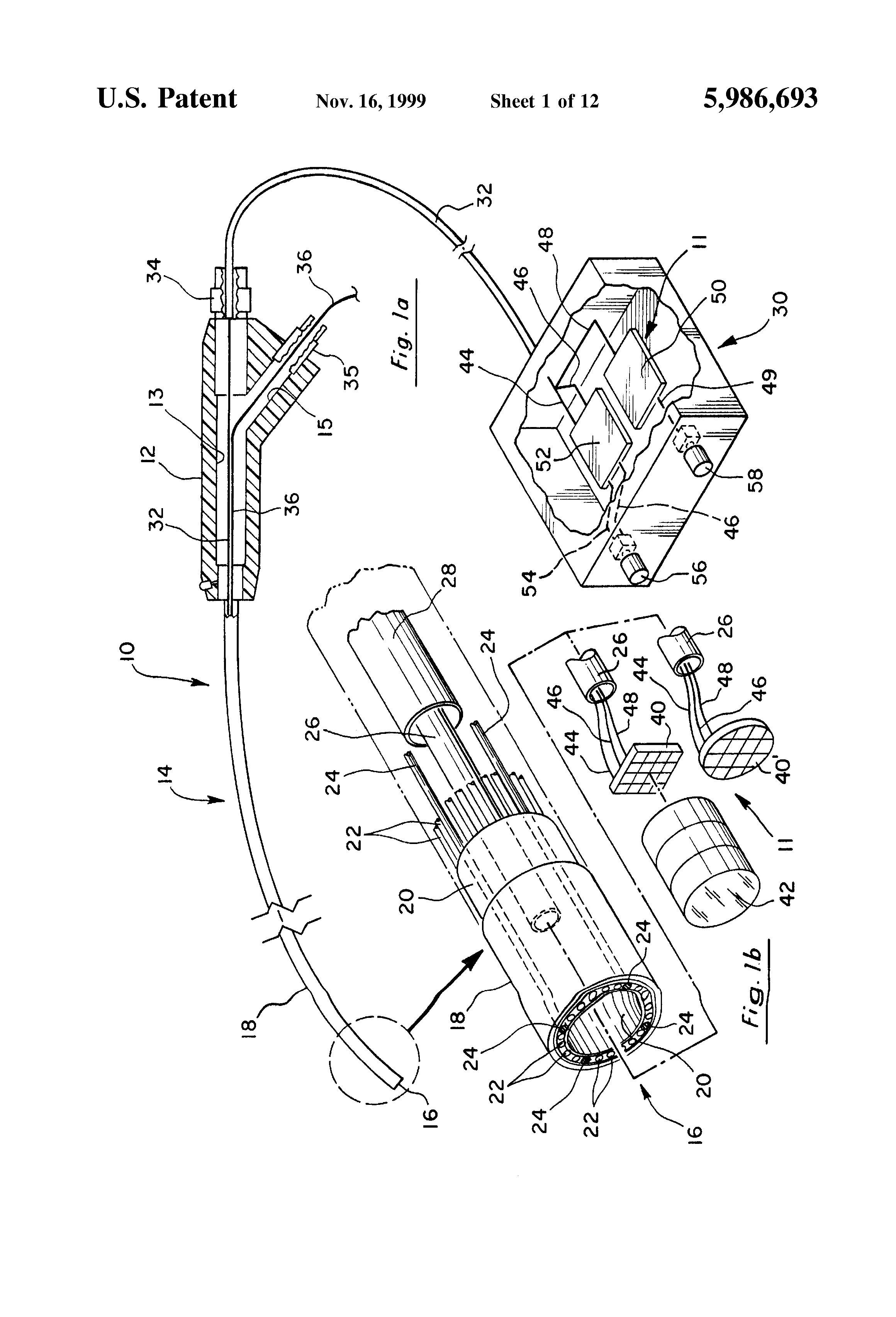 US5986693 likewise Schemview as well 2000 Chevy Blazer Heater Blend Door Actuator Where Is It together with Ir Laboratories New Home For Noble Peak moreover Sine Alternating Wave. on transistor lens