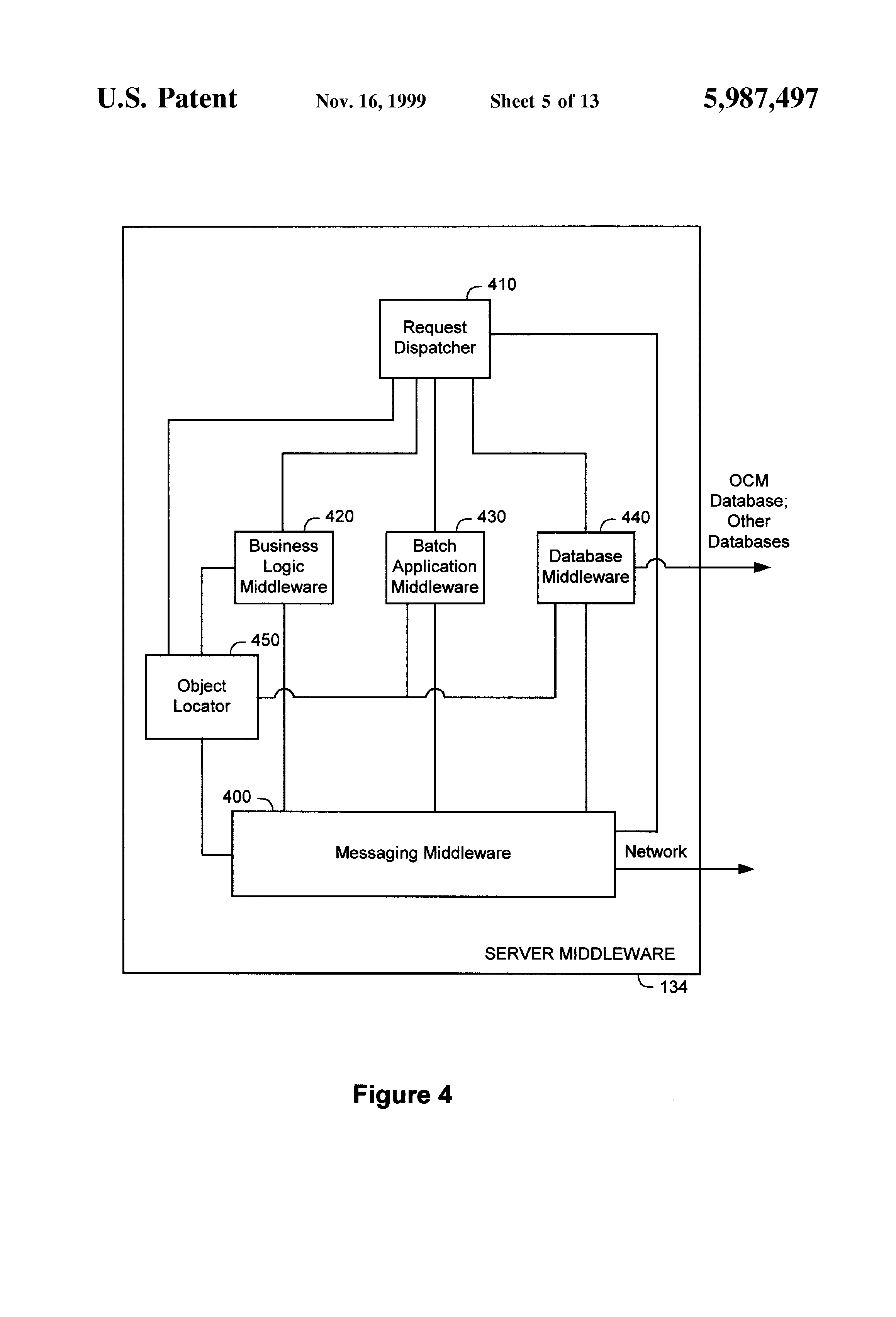 Patente us5987497 system and method for managing the for Distributed configuration
