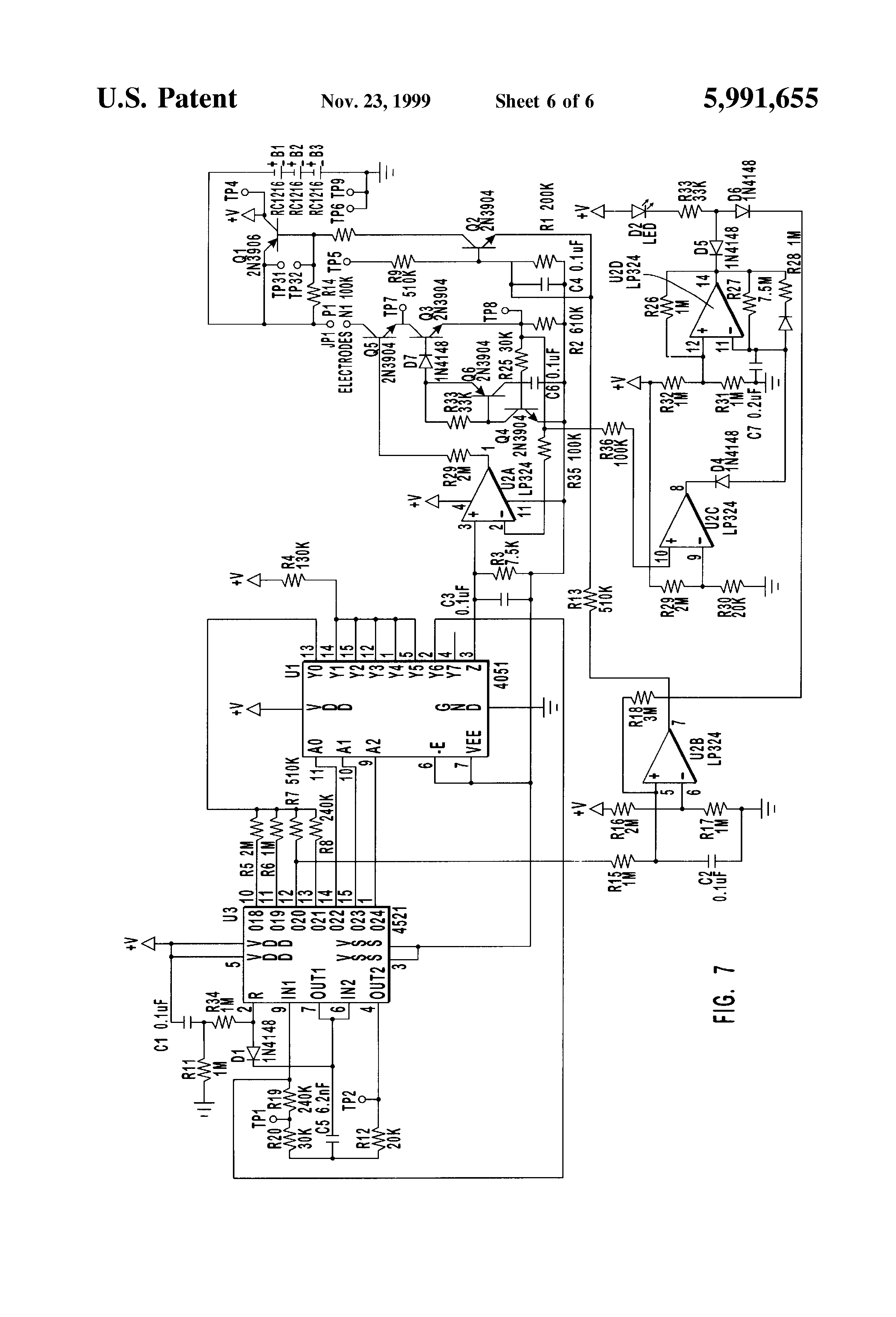 patent us5991655