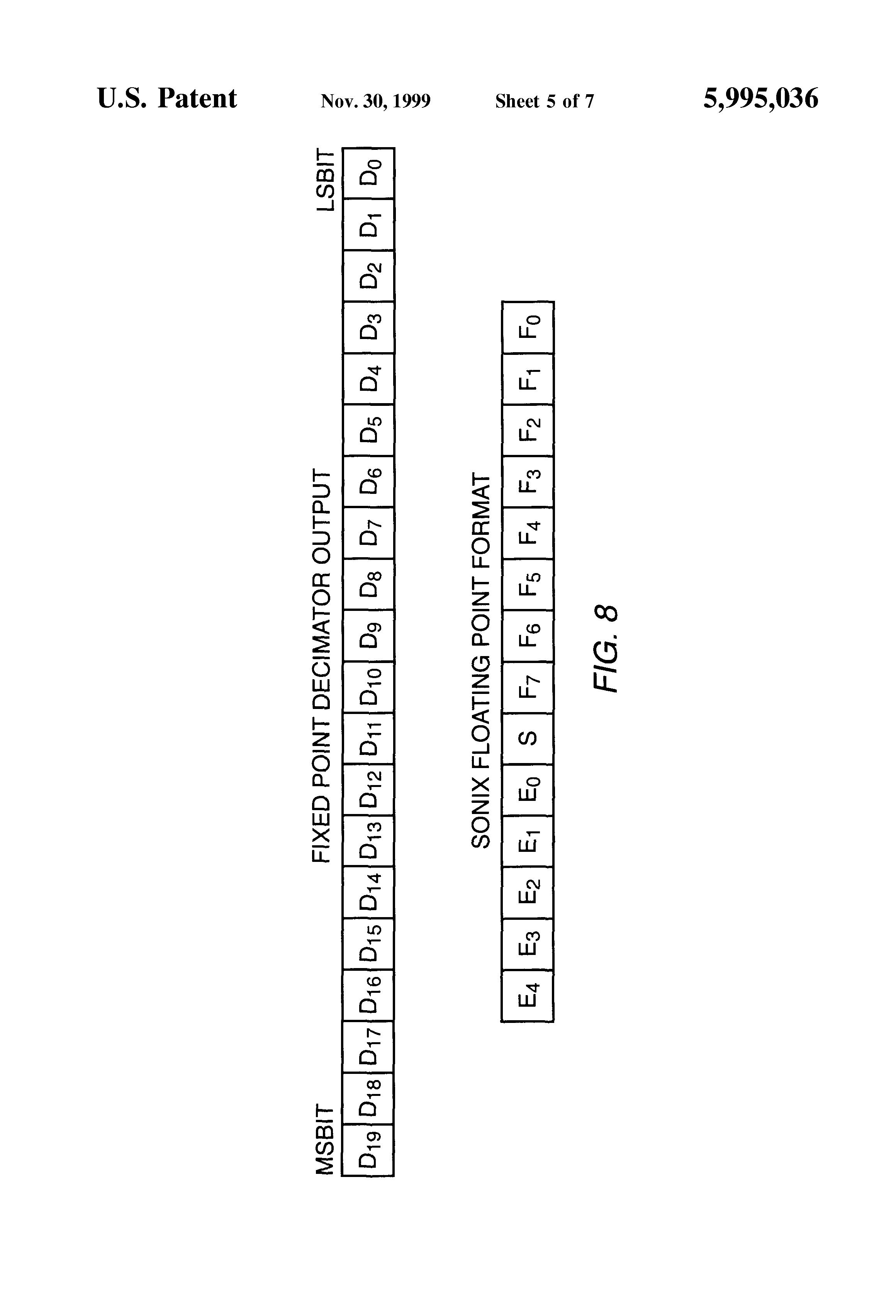 patent us5995036