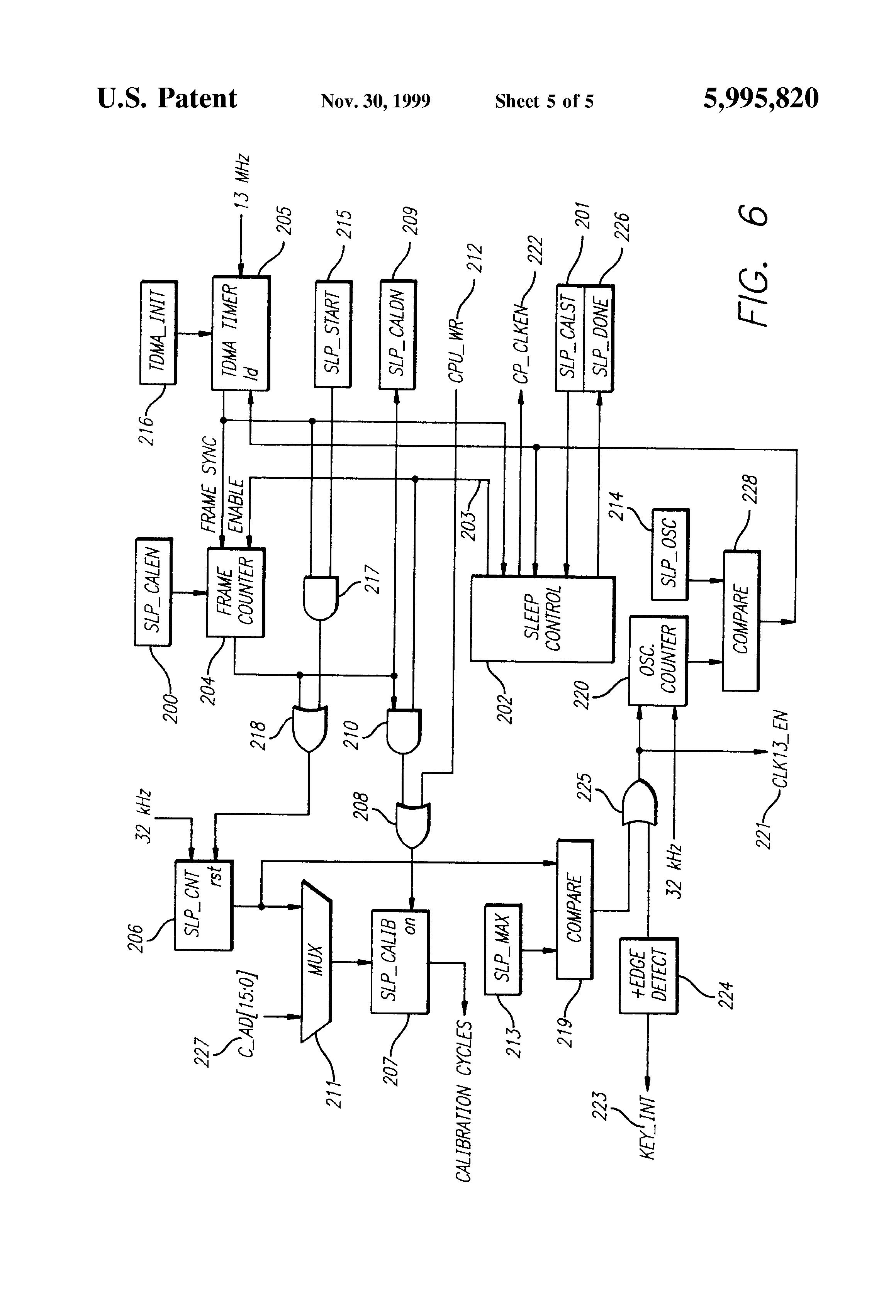 patent us5995820