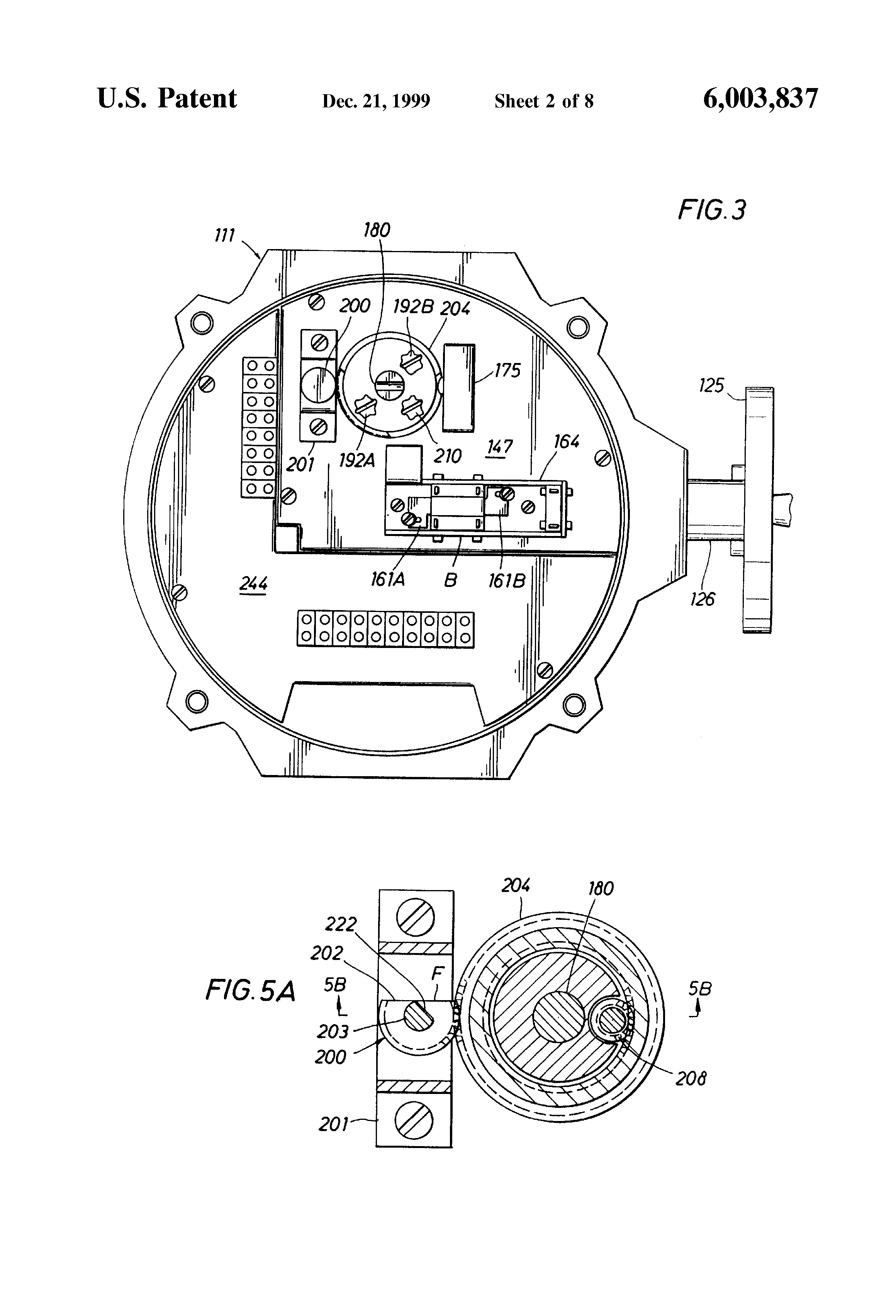patent us6003837 - valve actuator - google patents tritec motor operated valve wiring diagram ez valve wiring diagram
