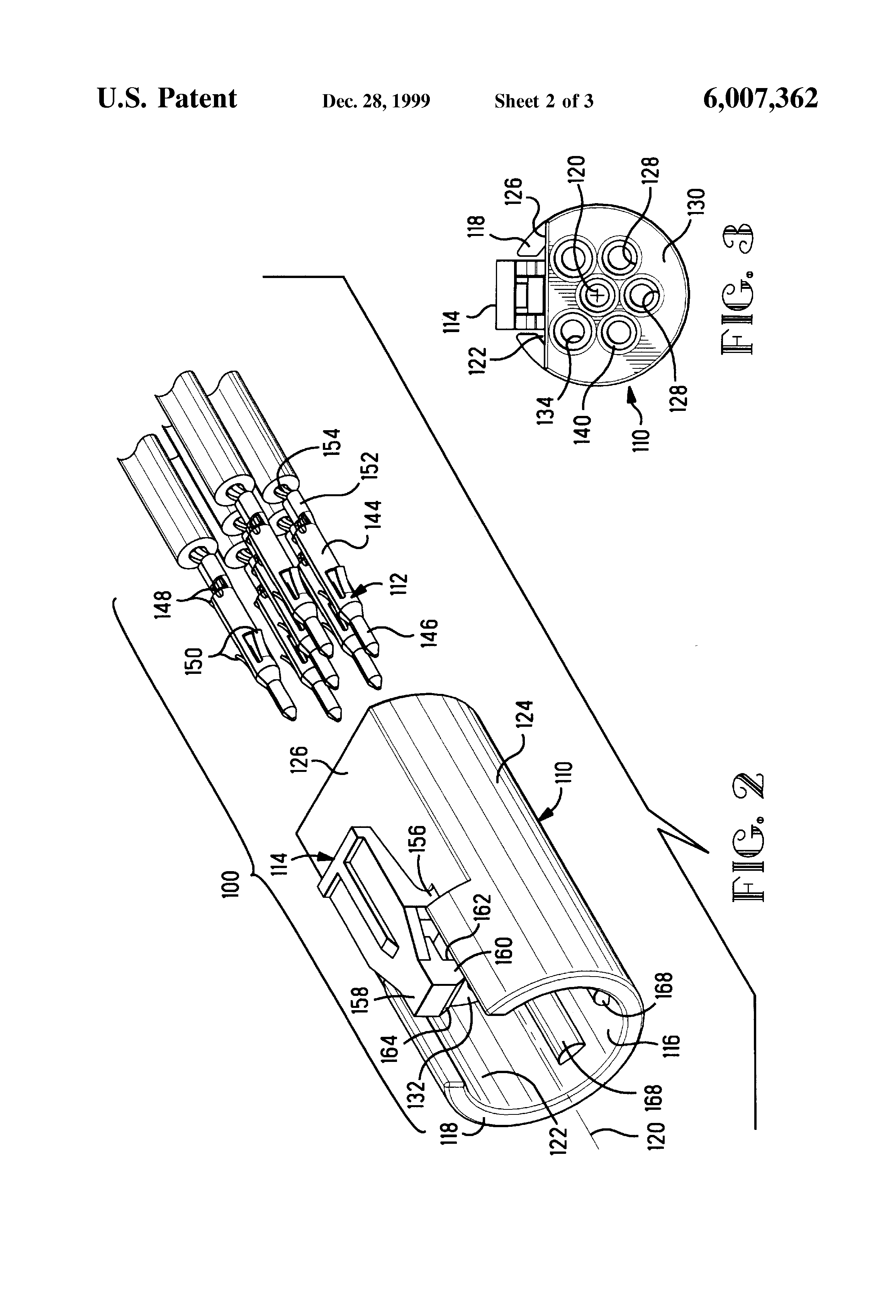 Patent us electrical connector assembly for a