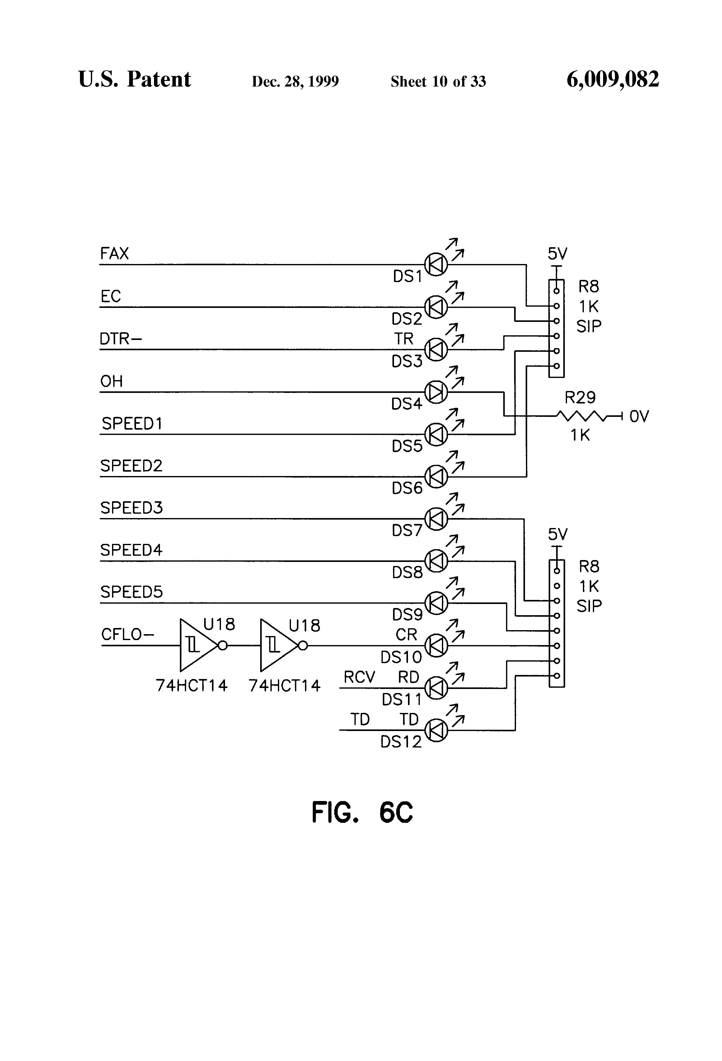 patent us6009082