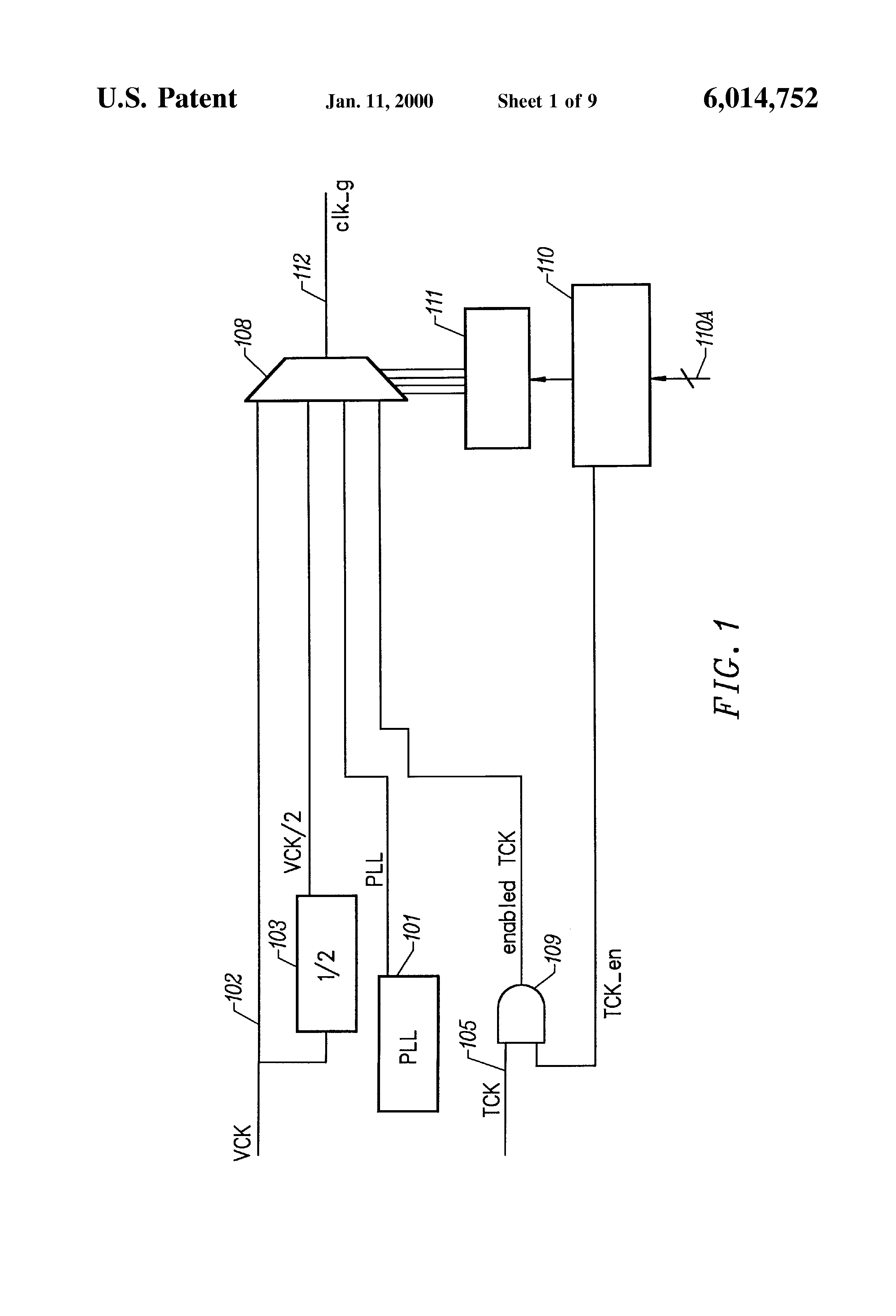 Patente Us6014752 Method And Apparatus For Fully Controllable What Is An Integrated Circuit 7 Patent Drawing