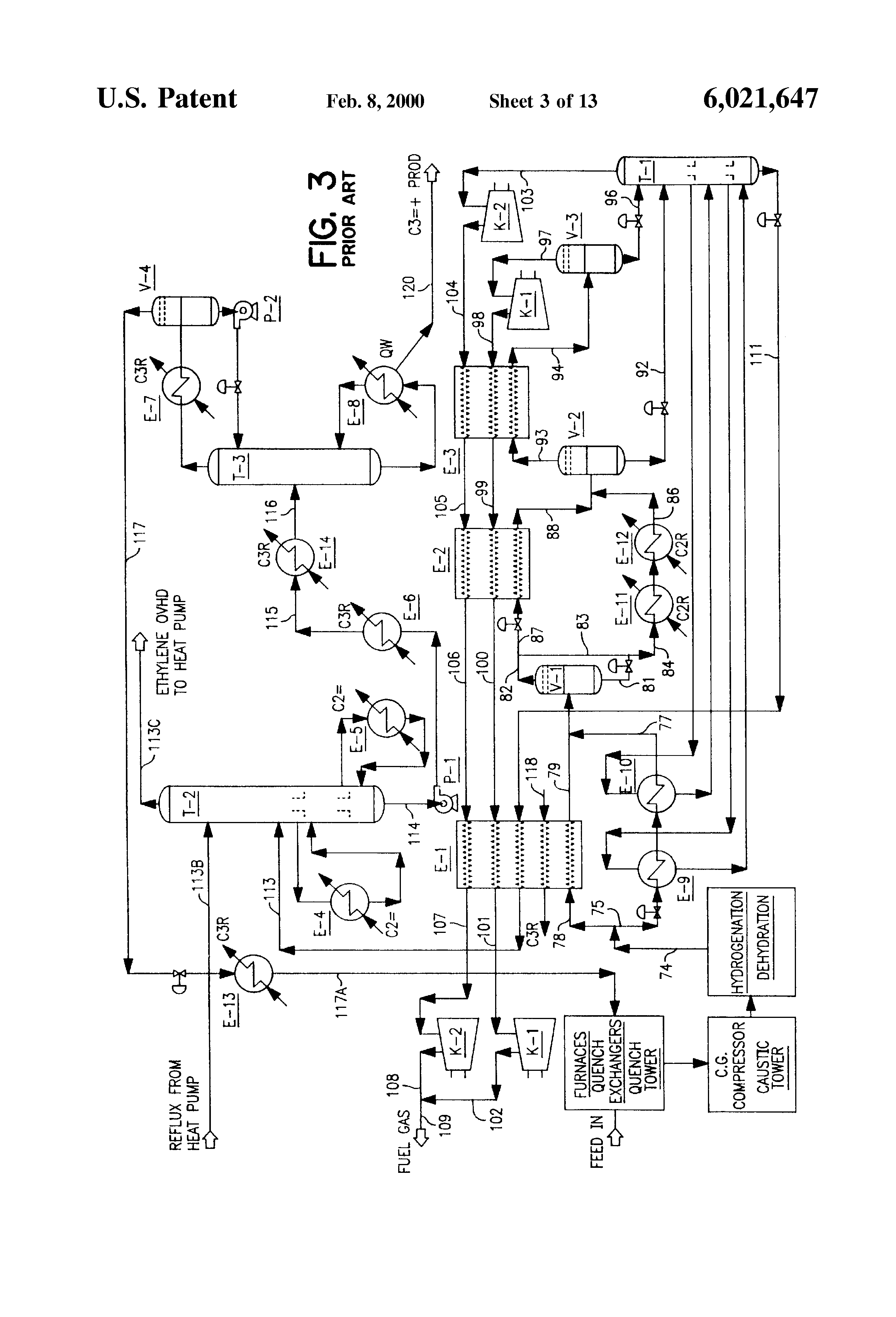 Cryogenic Distillation Of Natural Gas