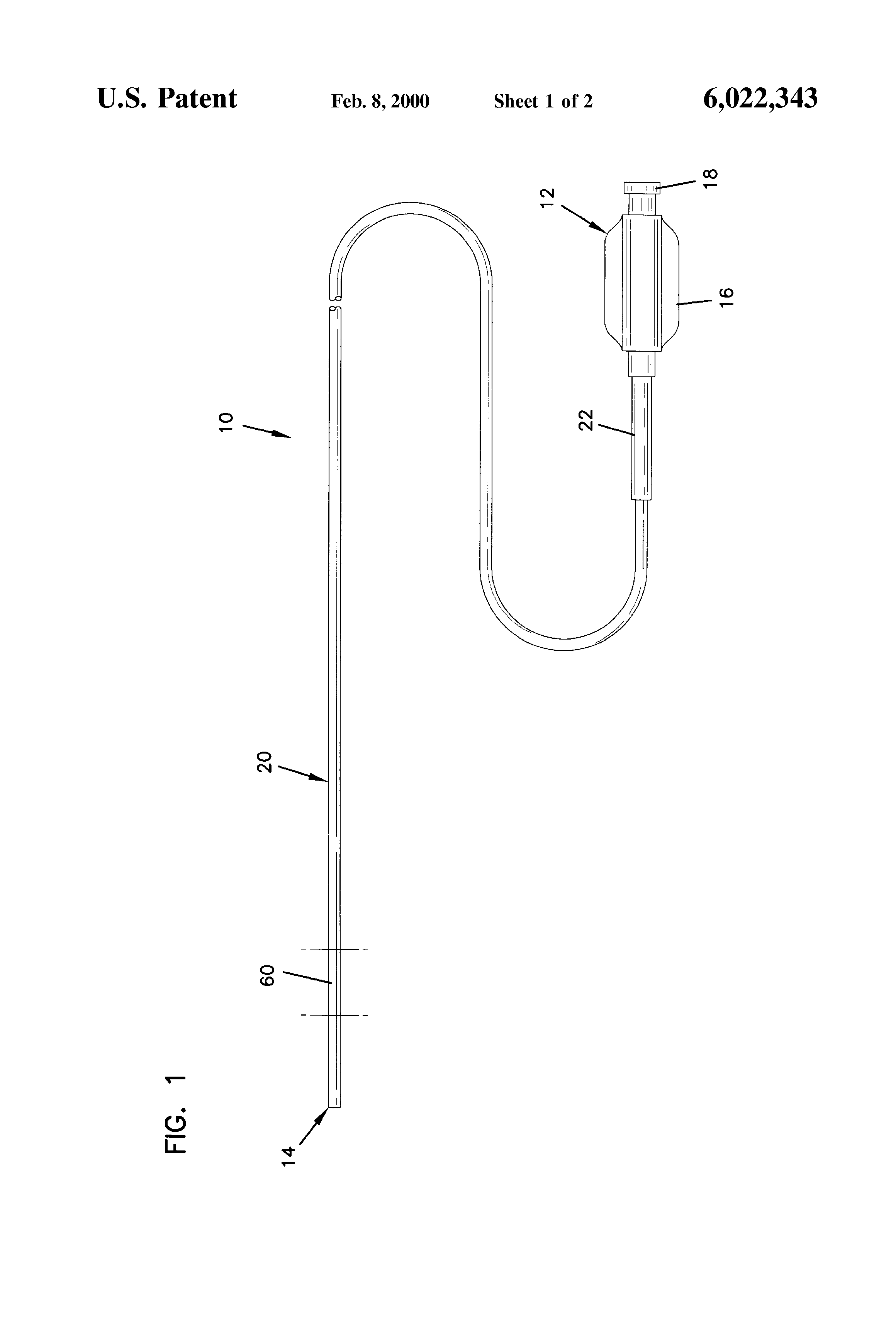 patent us6022343 - bridged coil catheter support structure