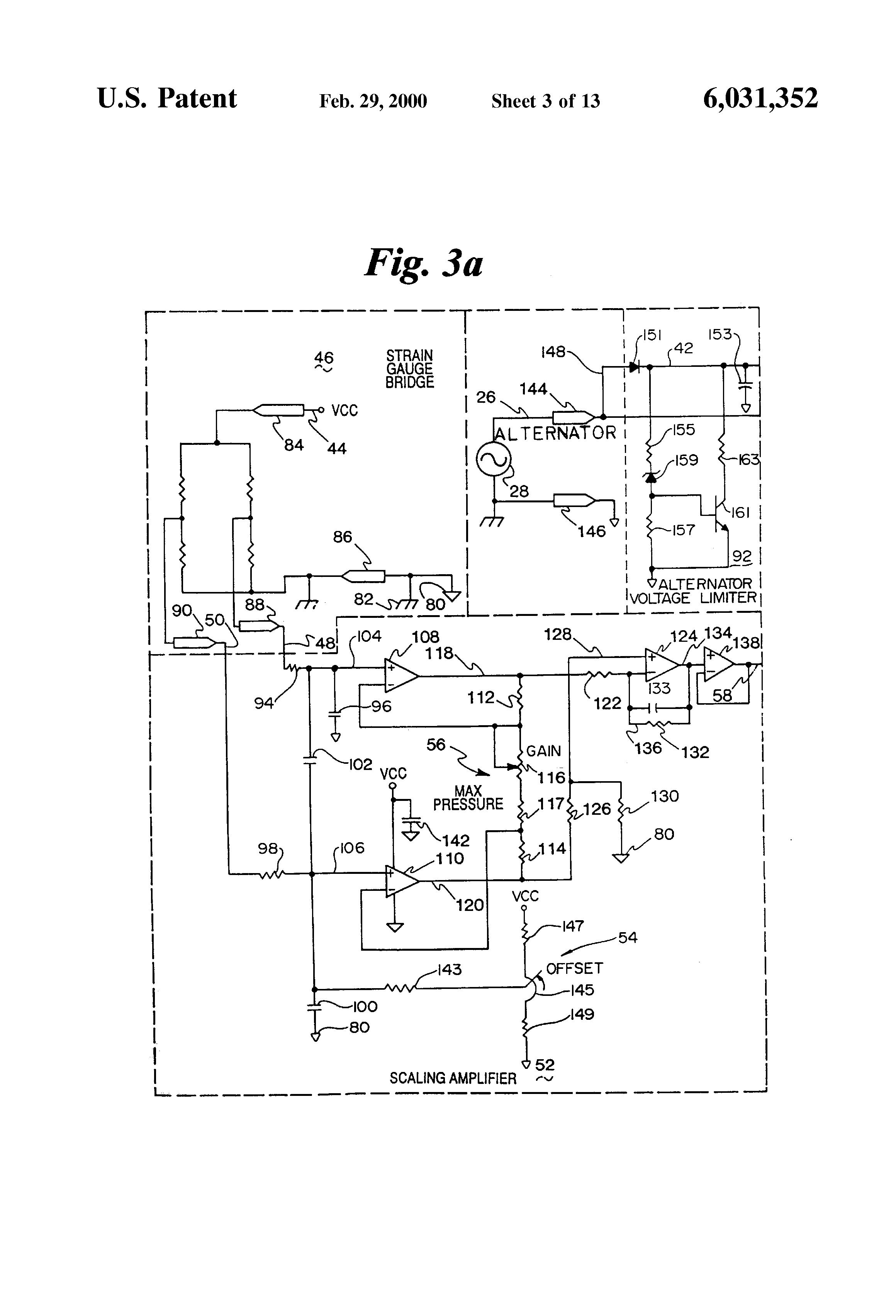 patent us6031352 - active alternator load circuit