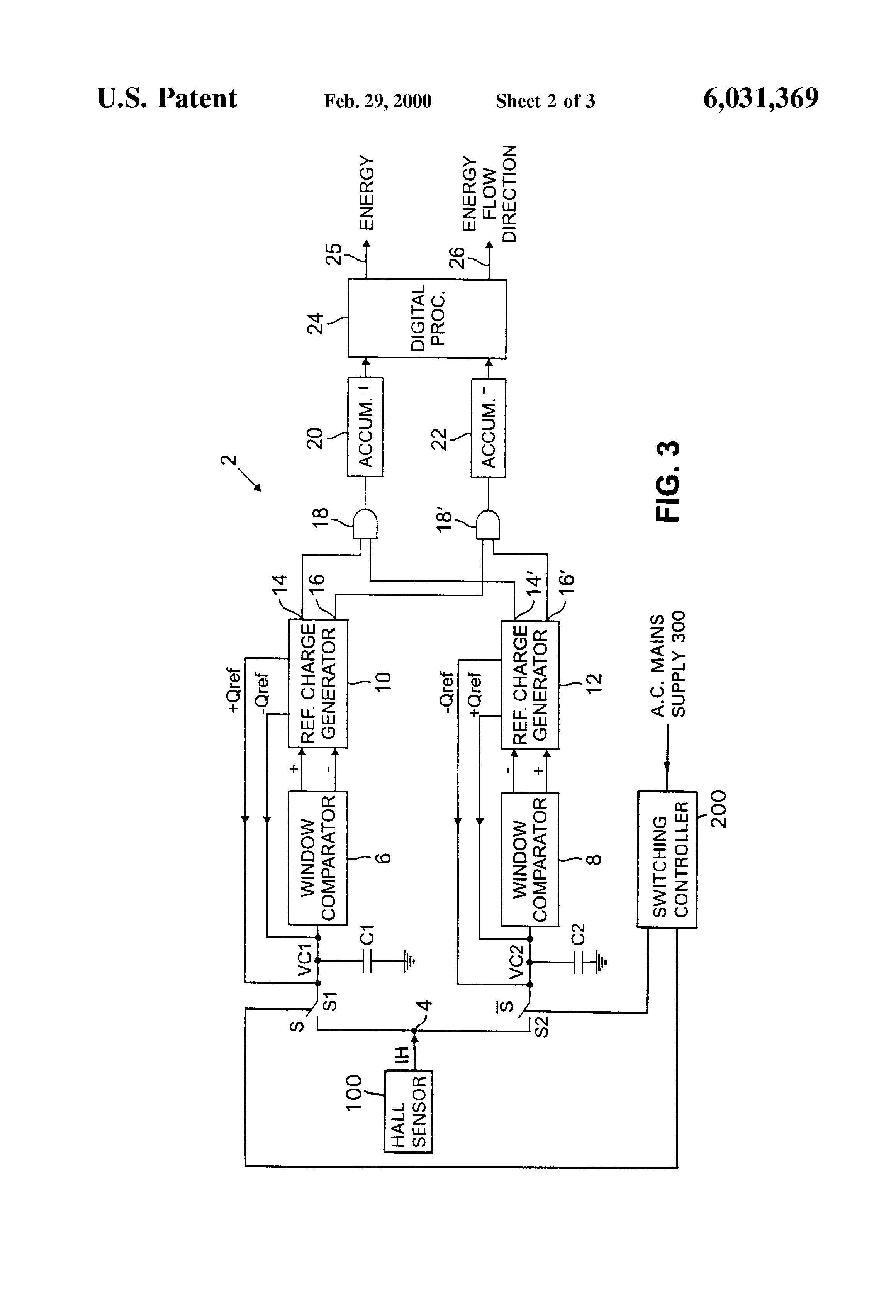 Patent Us4972141 Watthour Meter Or Salt Water Purification Systems. Patent Us6031369 Electricity. Wiring. Wire 3 Diagram Motor Phaselectric At Scoala.co