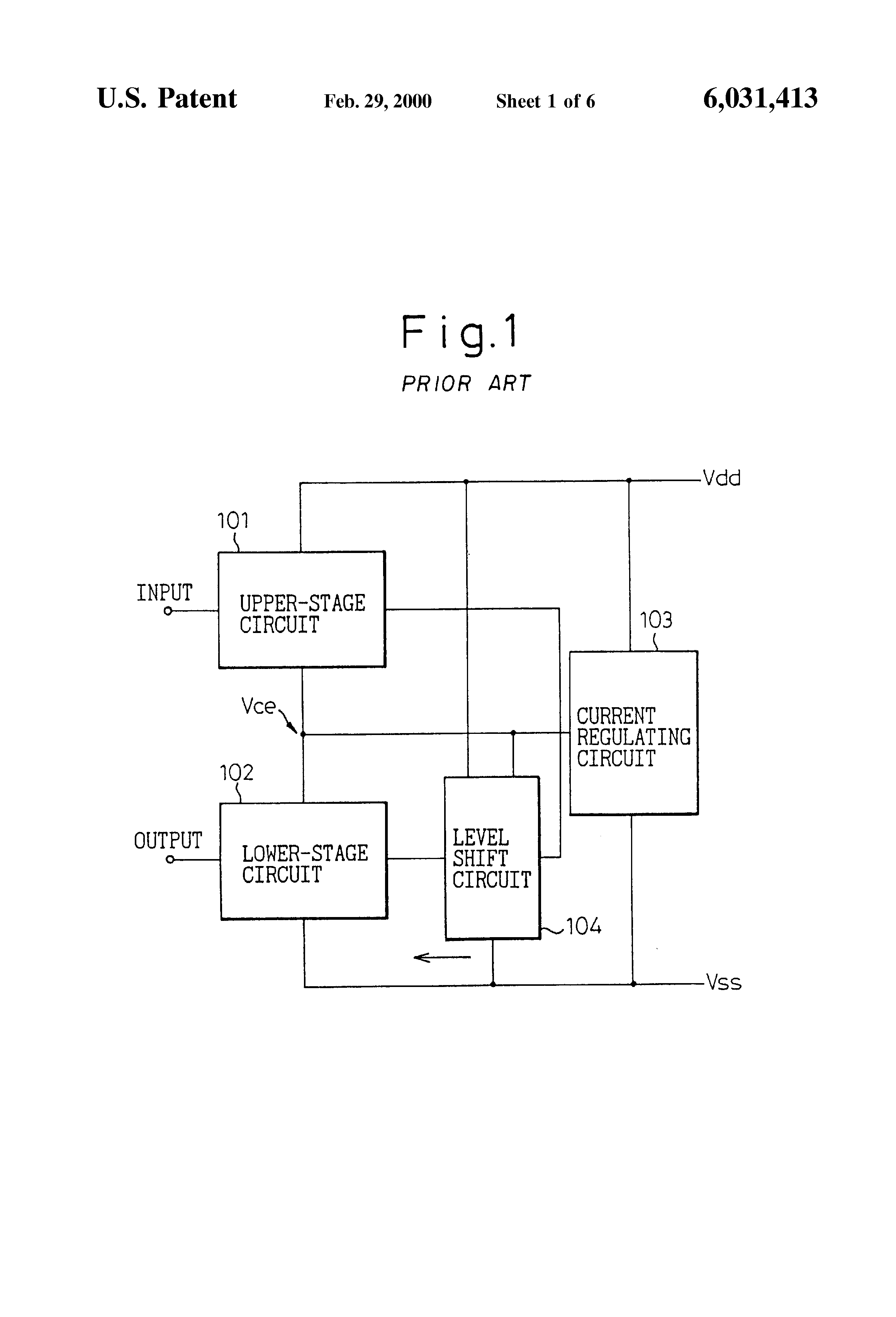 Patent Us6031413 Semiconductor Integrated Circuit Using Direct Diagram Drawing