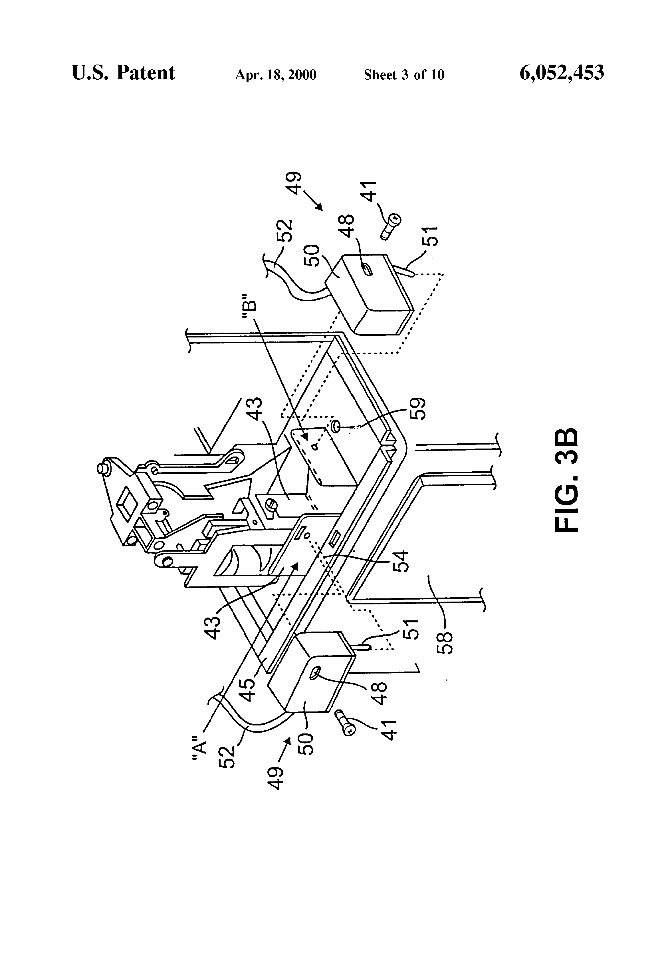Patente Us6052453 Coin Operated Telephone Auditor Google Patentes 3 Slot Payphone Wiring Diagram Patent Drawing
