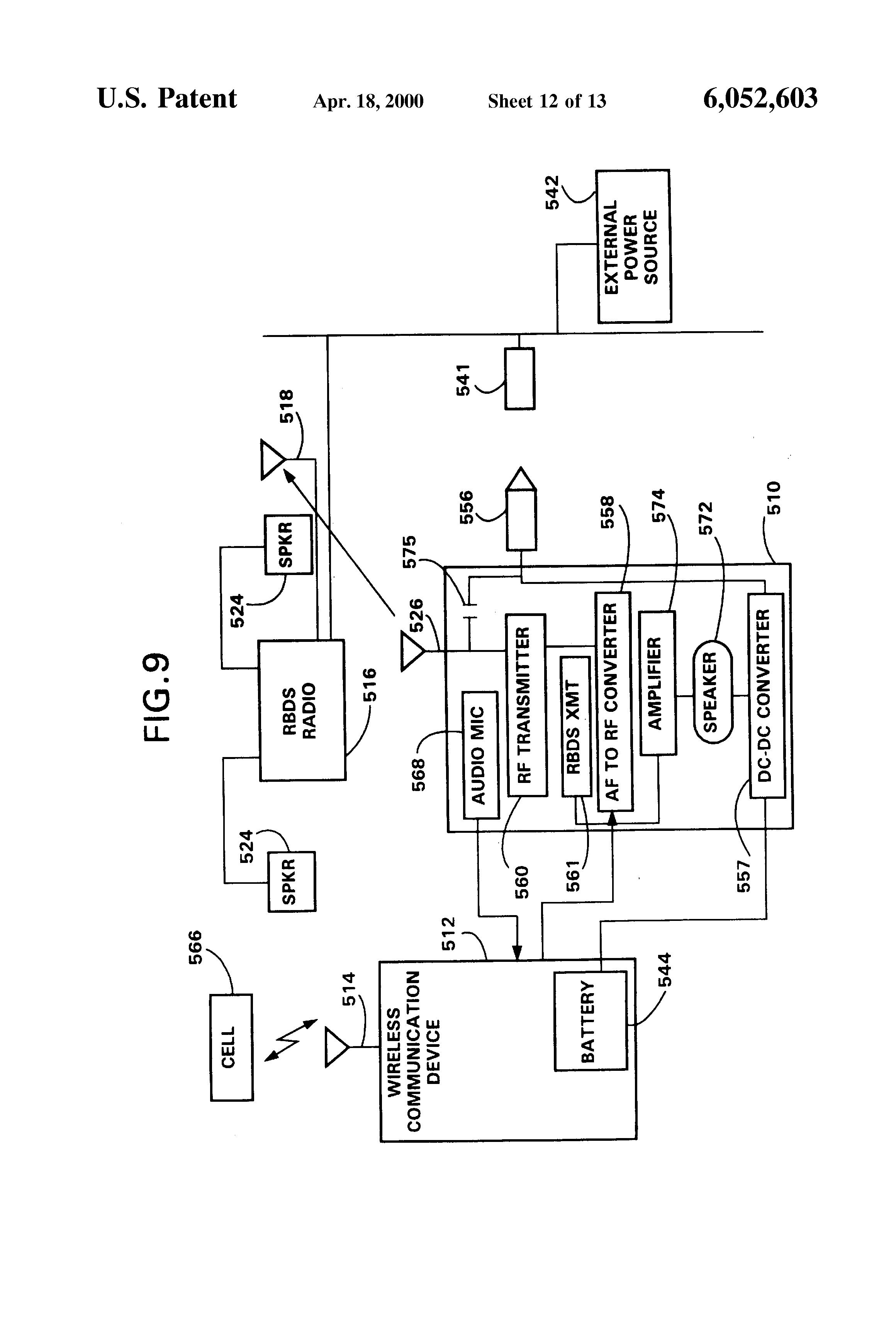 patent us6052603