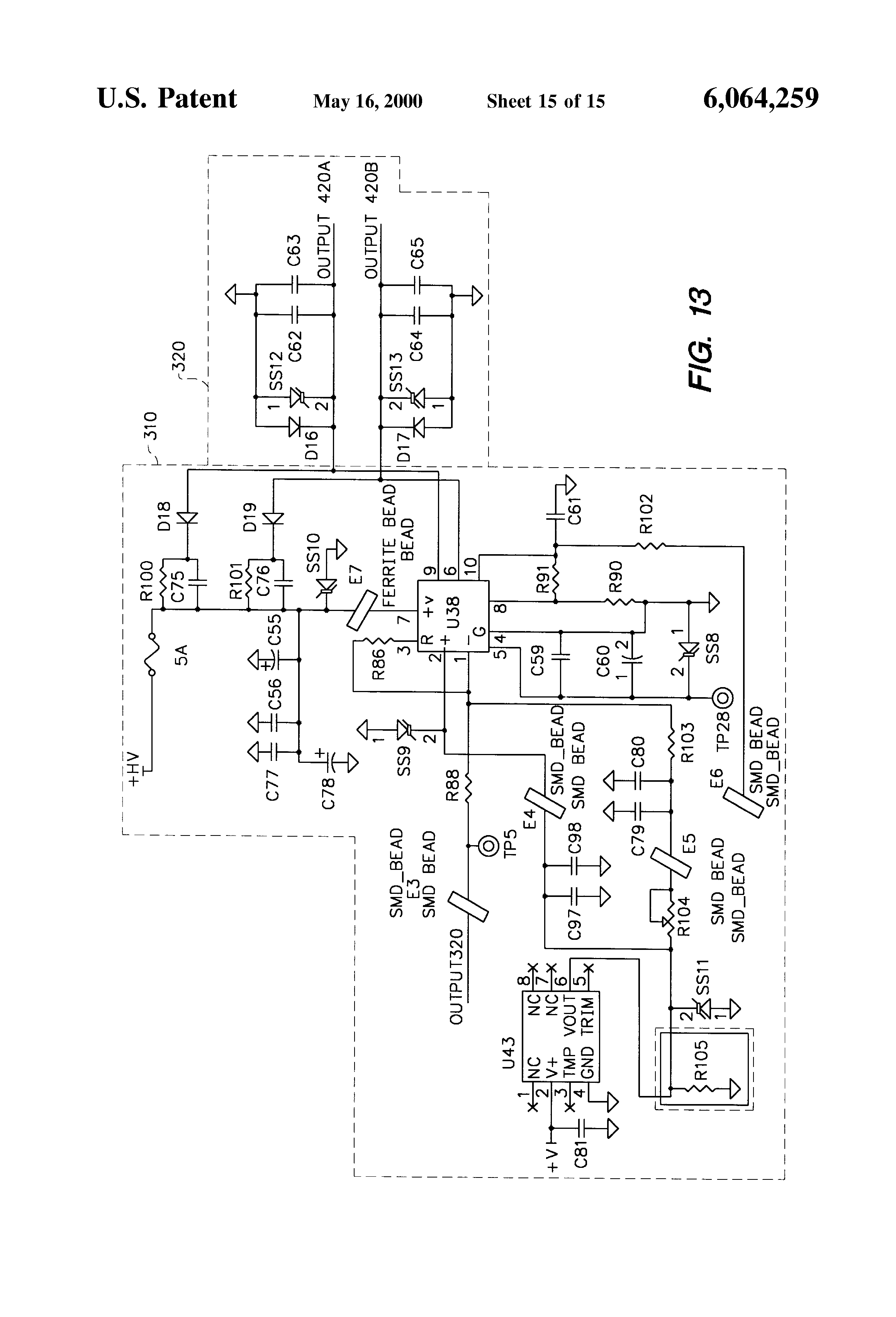 Patent Us6064259 High Power Performance Pulse Width Ttl Inverter Circuit Schematic Drawing