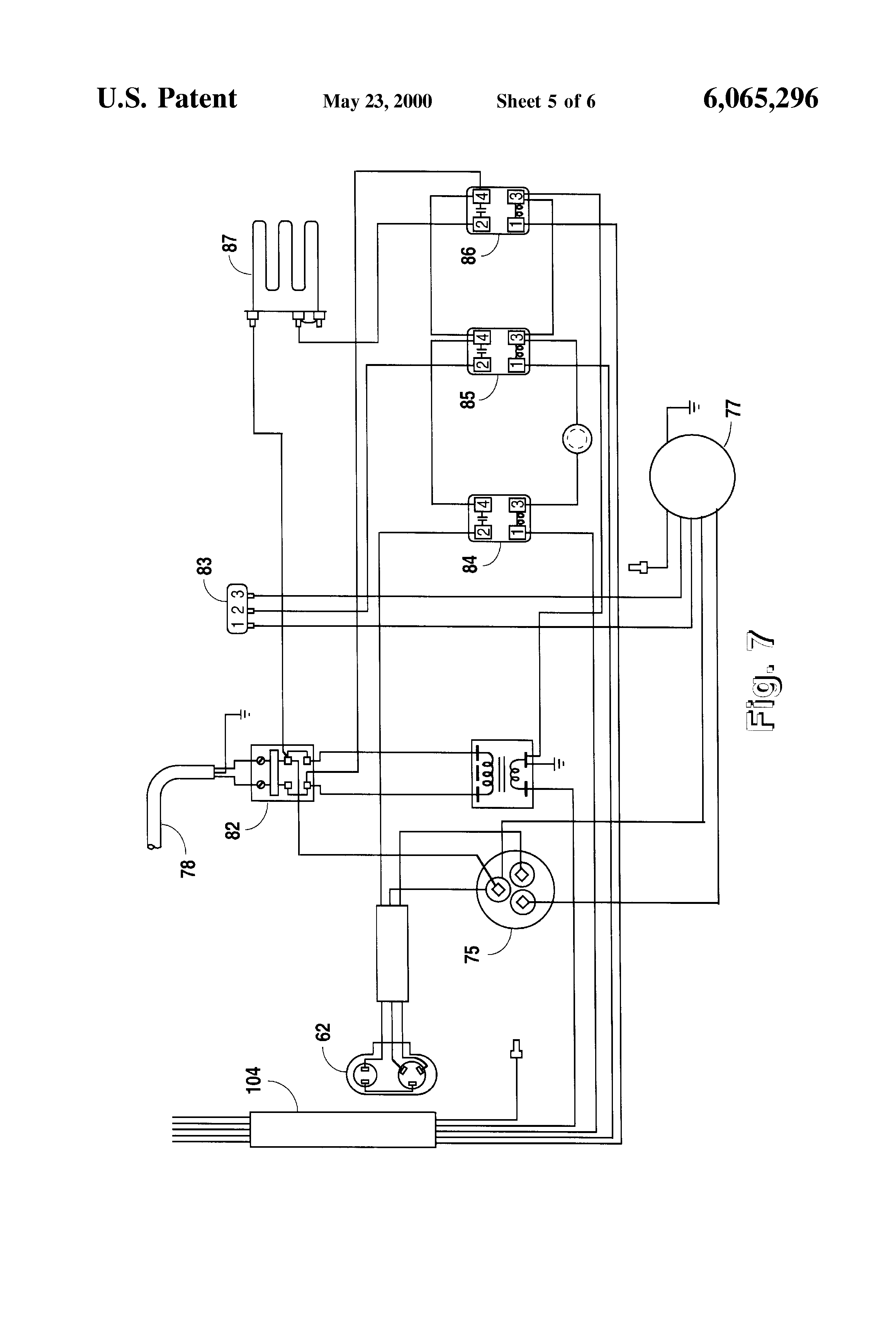 patent us6065296 single package vertical air conditioning system patents
