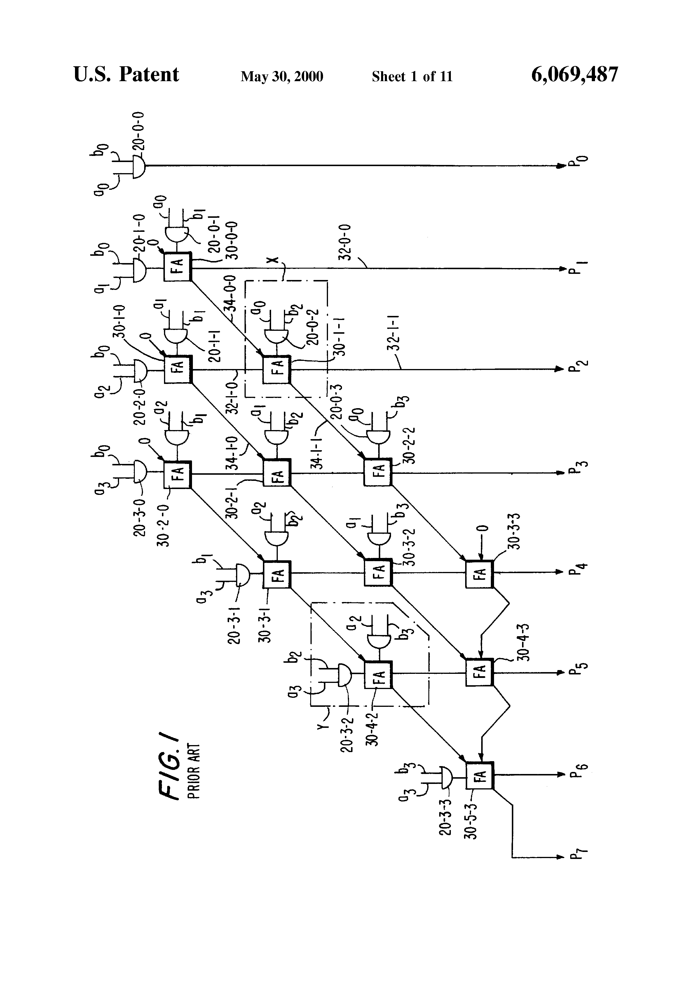 Patent Us6069487 Programmable Logic Device Circuitry For Improving The Block Diagram Above Has Accumulator Addend Full Adder And Drawing