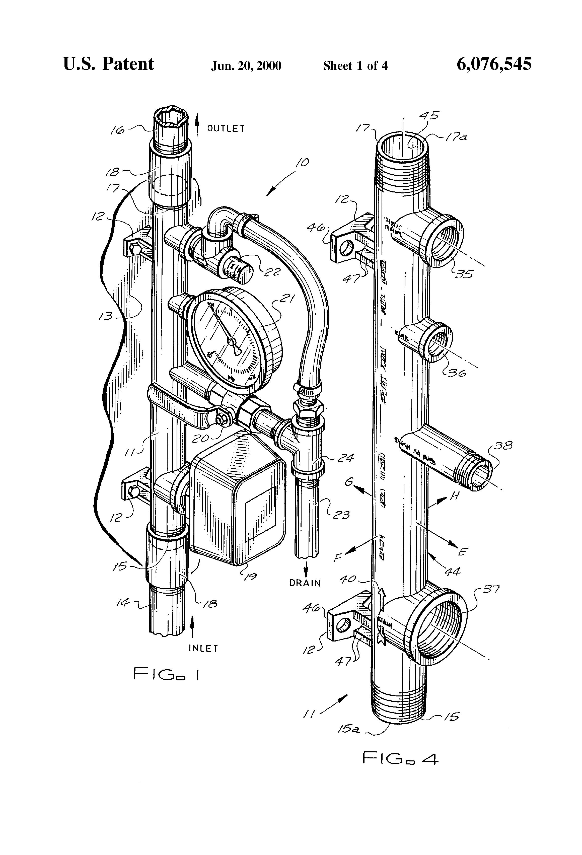 residential sprinkler system diagram