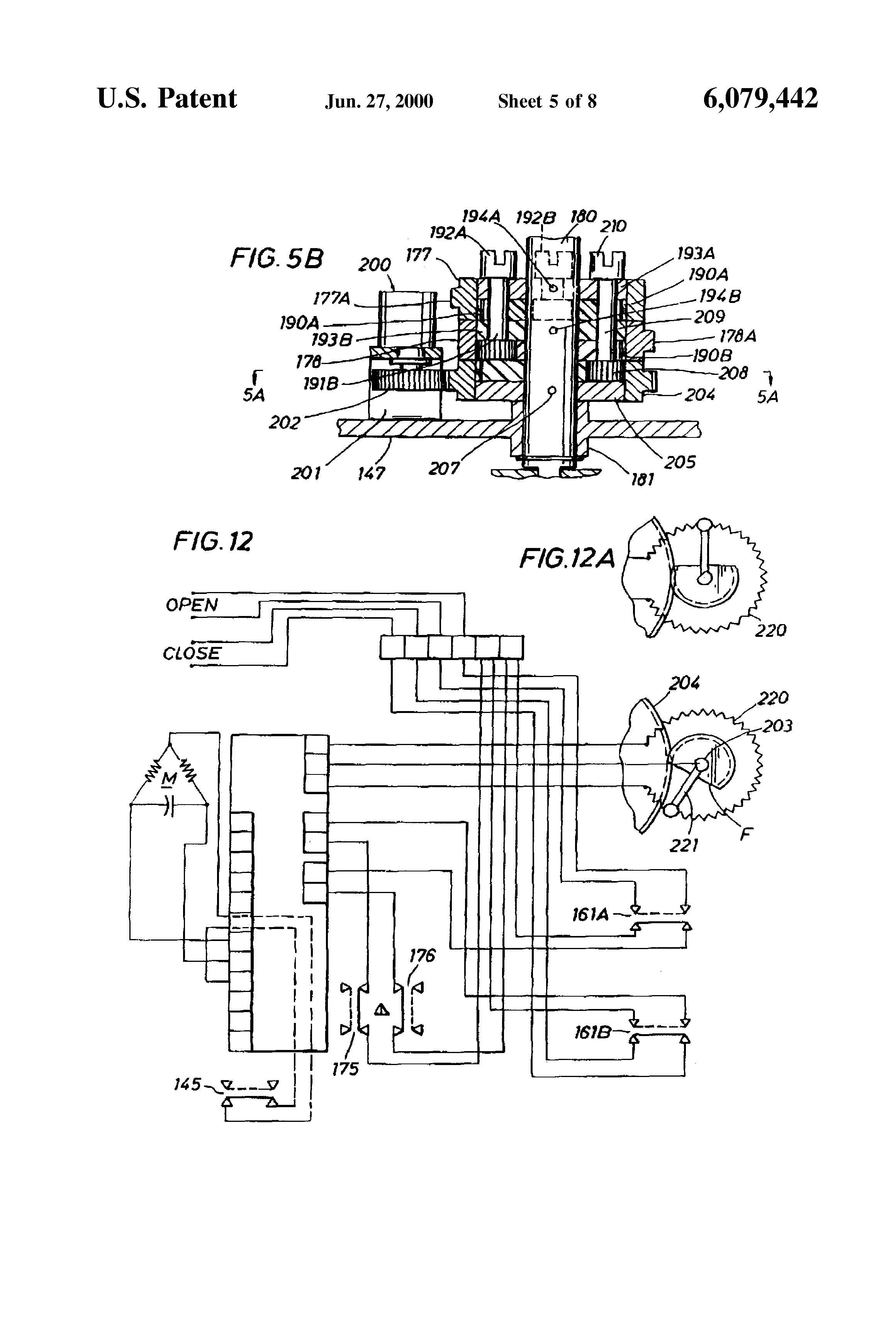 patent us6079442 valve actuator google patents. Black Bedroom Furniture Sets. Home Design Ideas