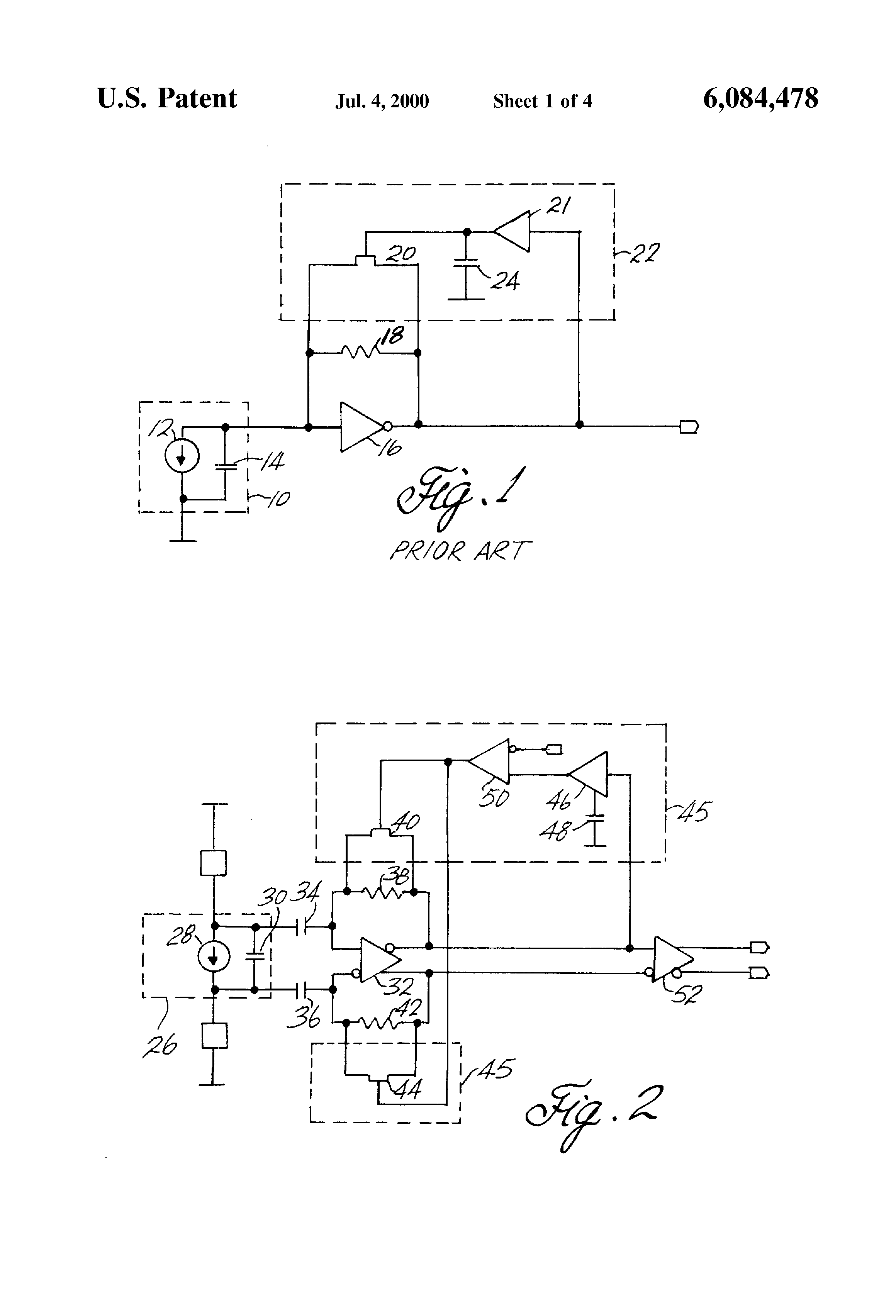 Patent US6084478 - Transimpedance amplifier with automatic